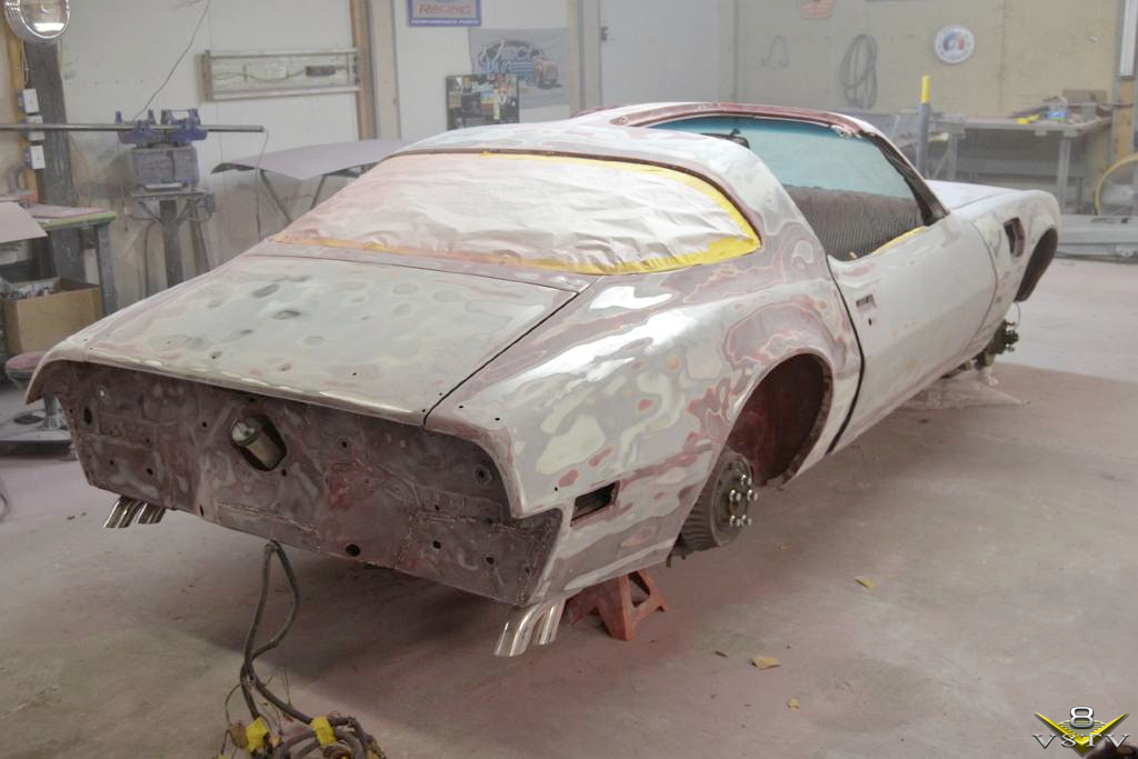 Stripped Trans Am