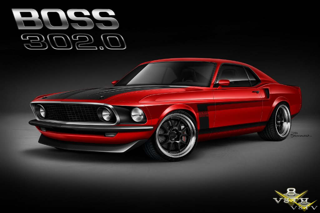 1969 Mustang BOSS 302 0 DSE Suspension 5 0 V8TV Build