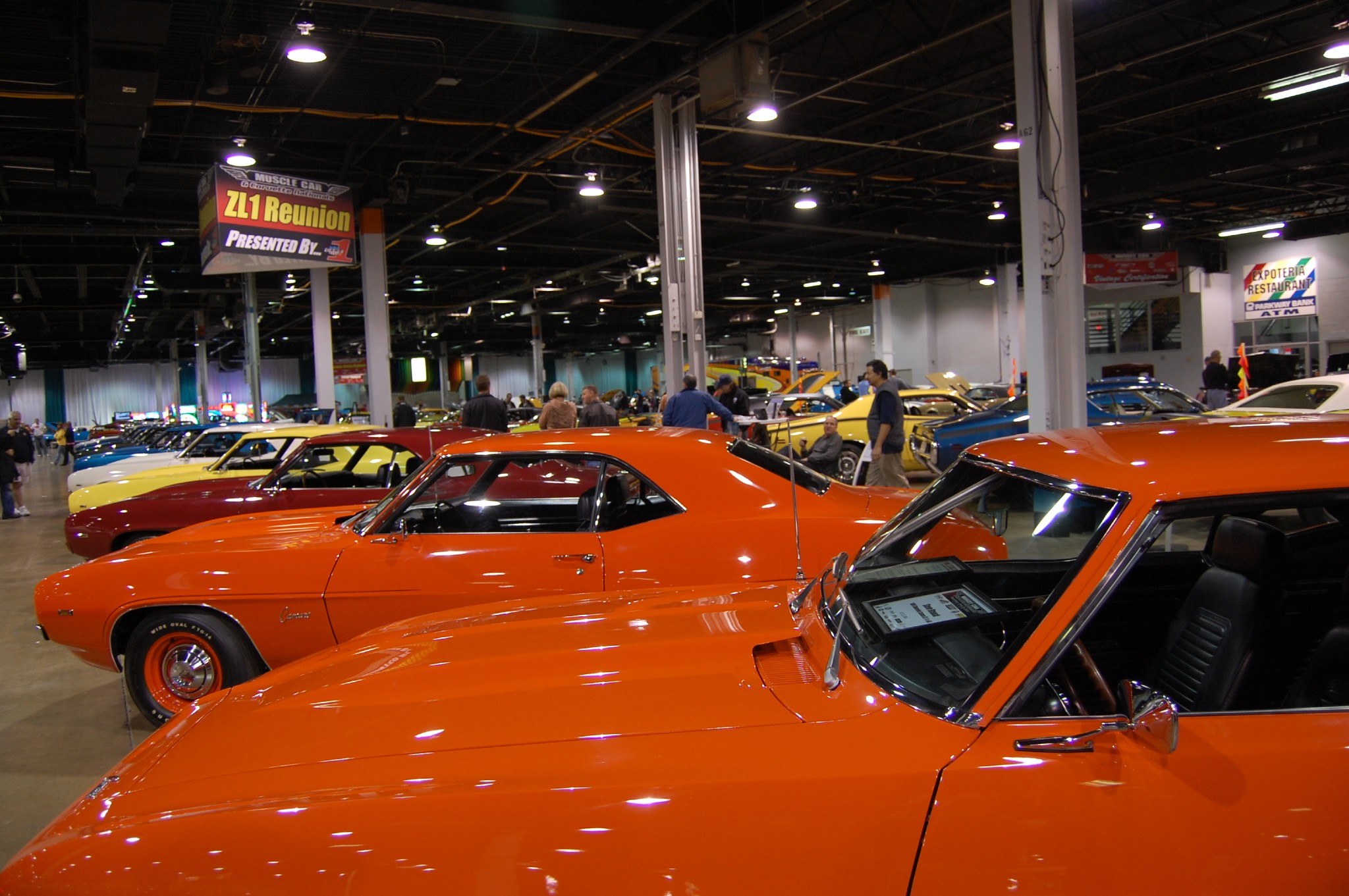 2011 Muscle Car And Corvette Nationals ZL1 Display