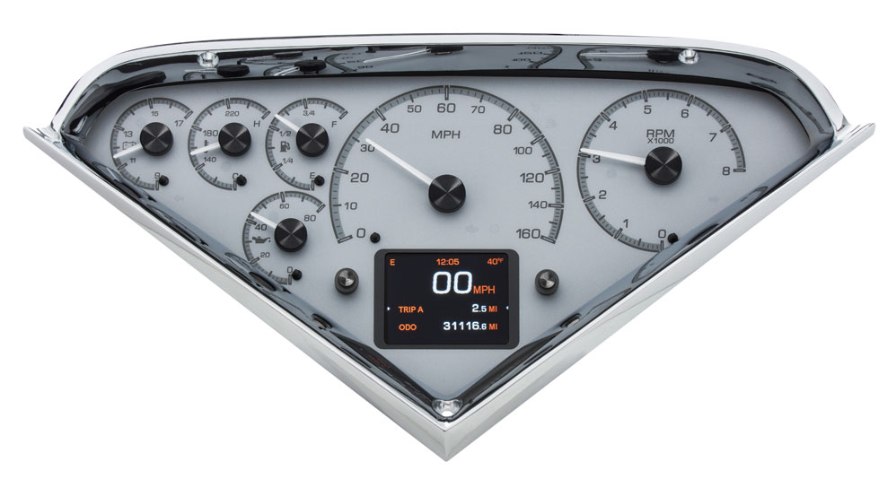 HDX 55C PU S new dakota digital hdx series gauges offer modern look and new 1951 Chevy Truck Wiring Diagram at edmiracle.co