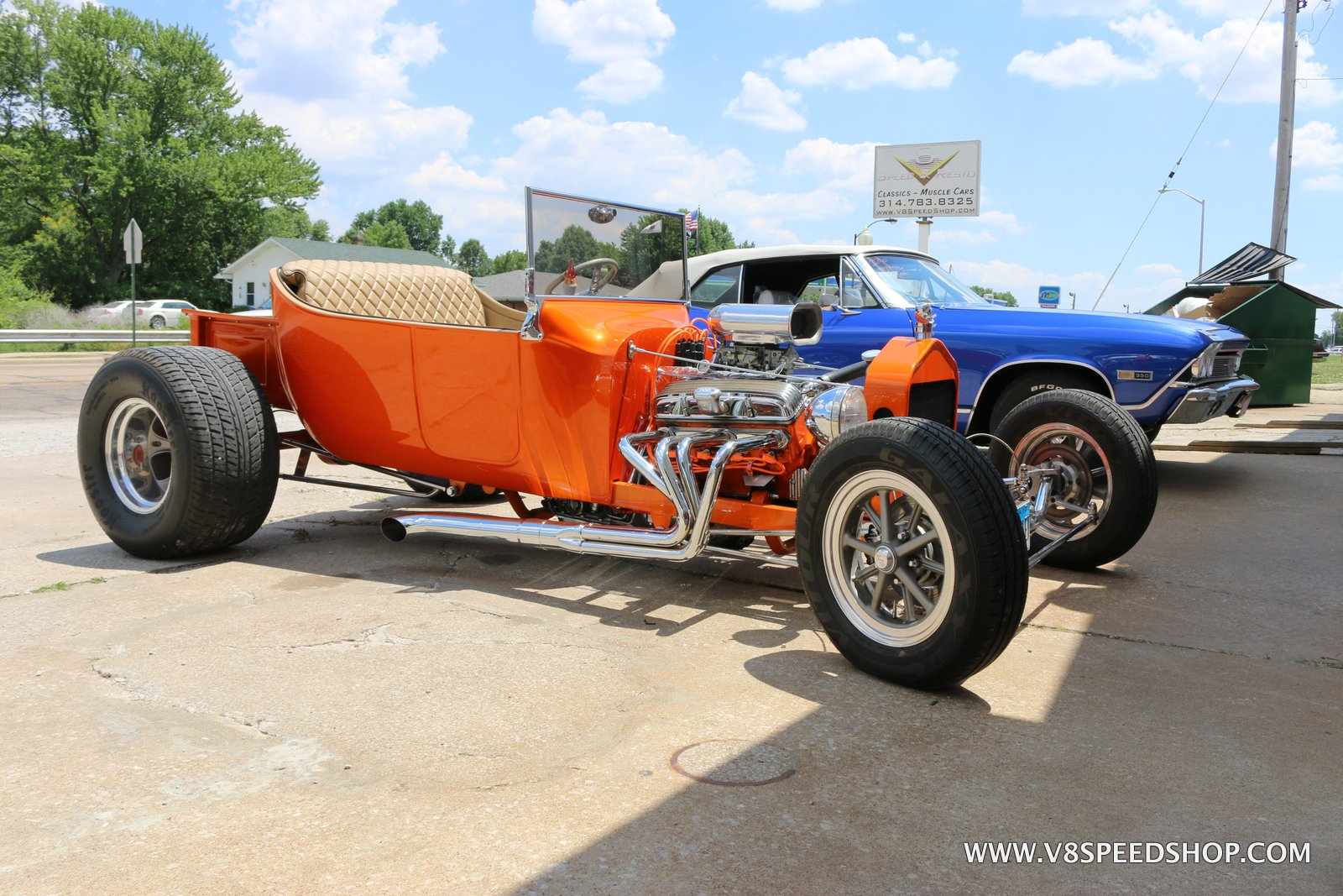 1923 Ford T Bucket Maintenance at the V8 Speed and Resto Shop