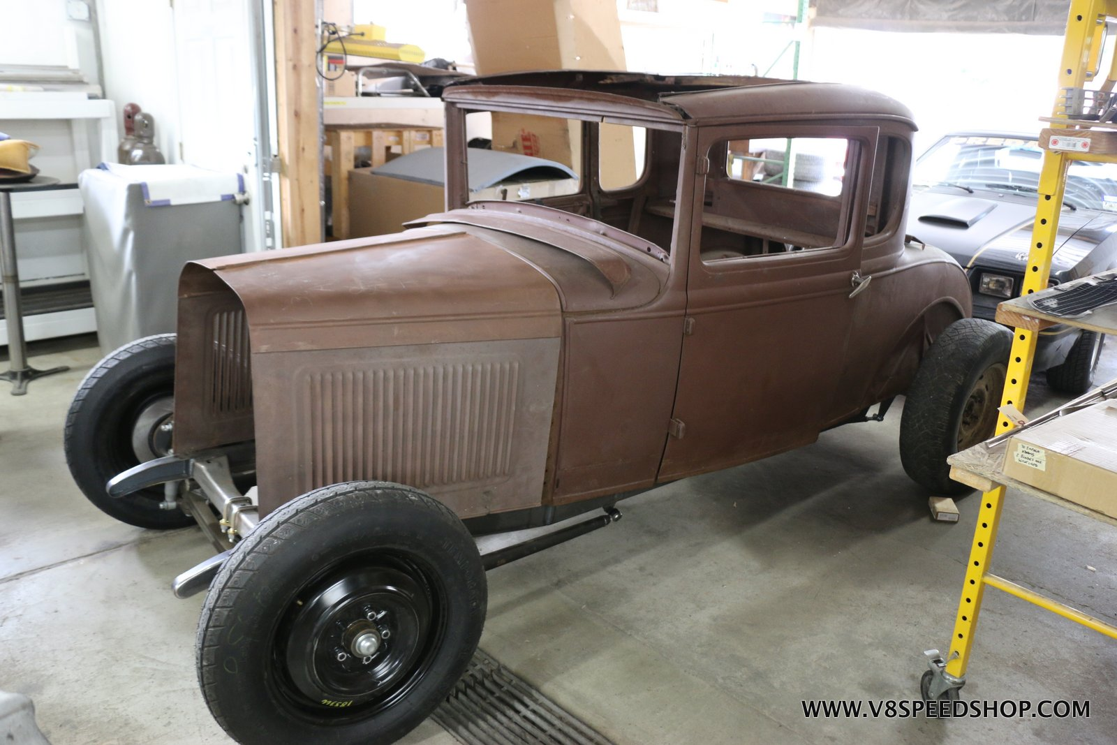 1931 Ford Model A Hot Rod at the V8 Speed and Resto Shop