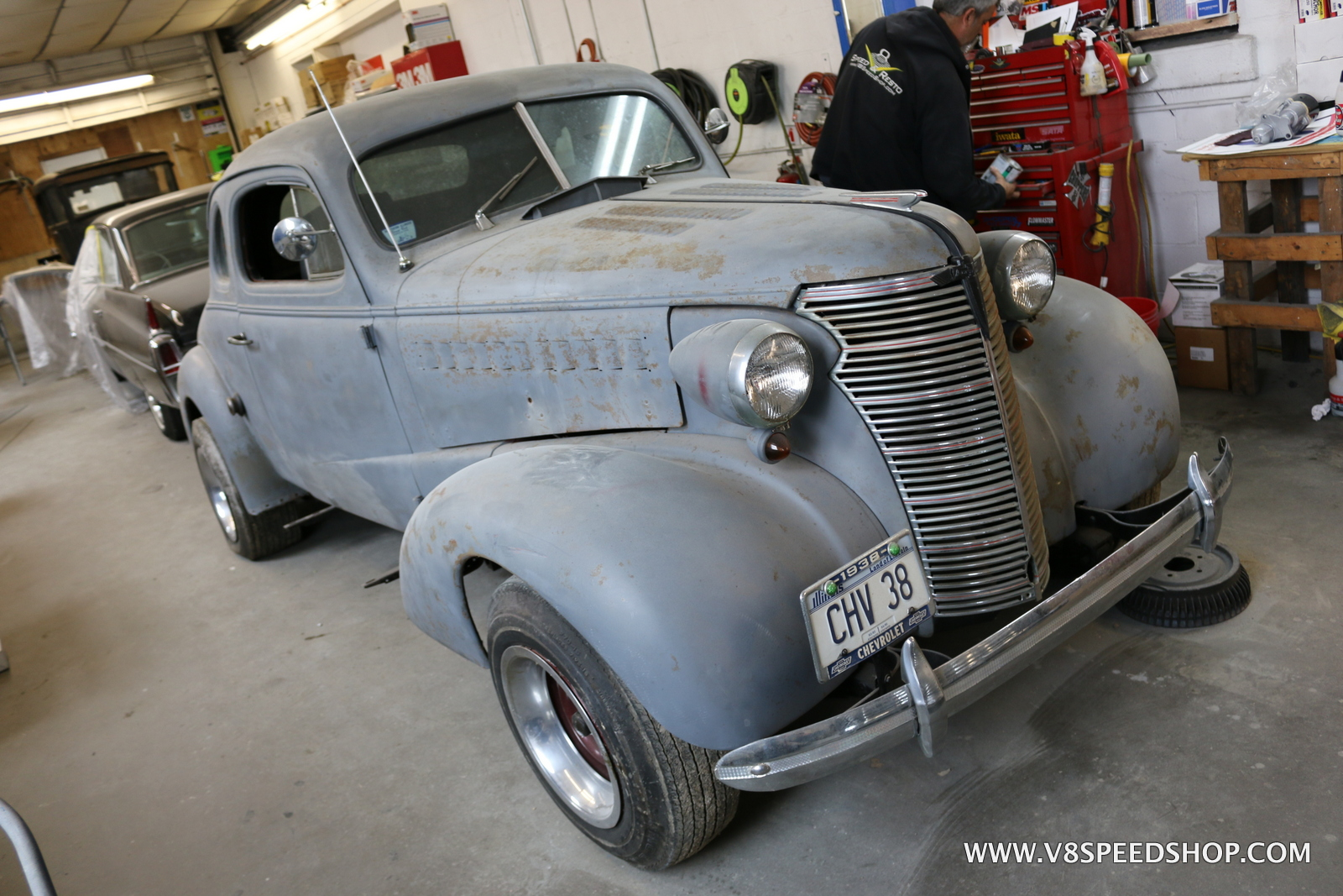 1938 Chevrolet Coupe Restoration Photo Galleries