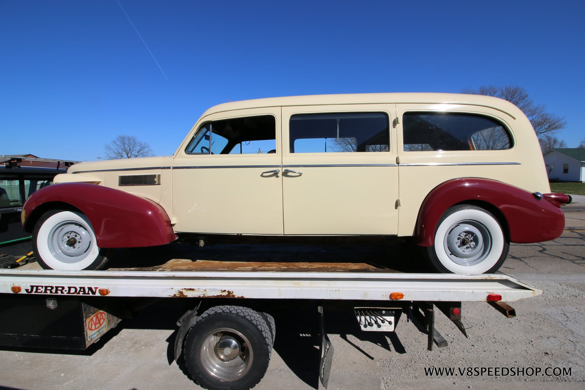1939 LaSalle Ambulance Restoration Photo Gallery