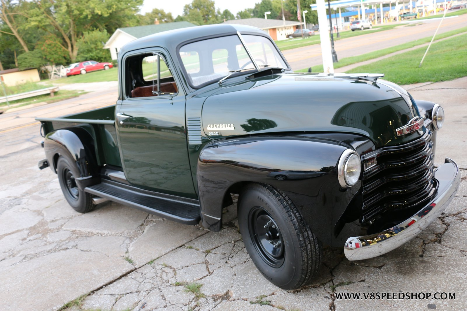 1951 Chevrolet Dump Pickup Truck Restoration Photo Gallery V8tv Click To Enlarge Image Chevy Pu Gh 2018 08 290003