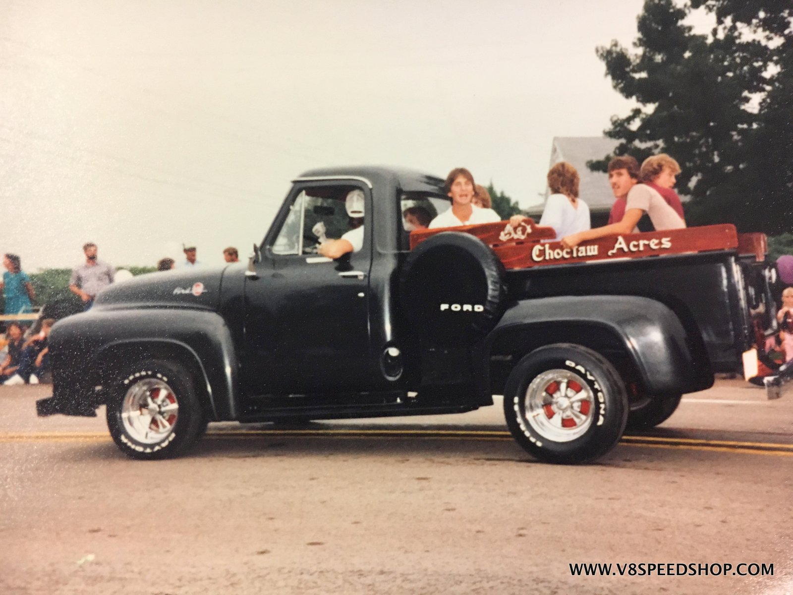 1955 Ford F100 Restoration at the V8 Speed & Resto Shop