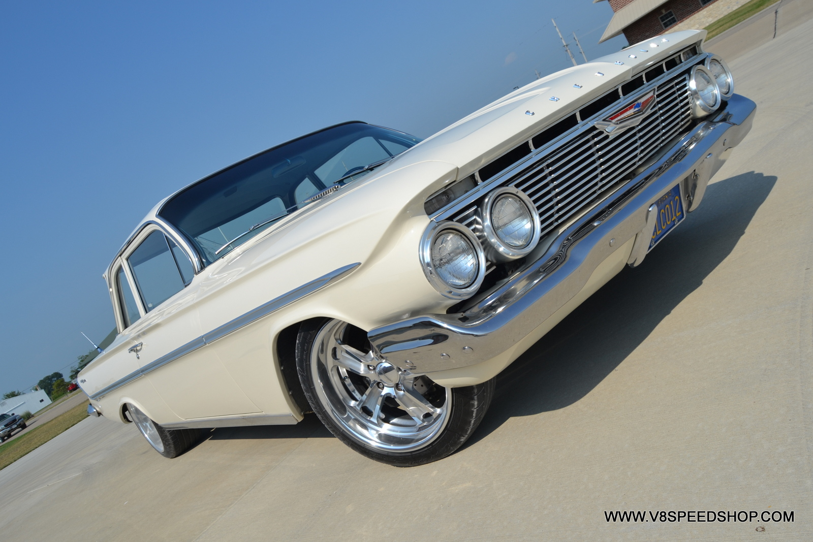 1961 Chevrolet Bel Air LS2 Upgrades at V8 Speed & Resto Shop