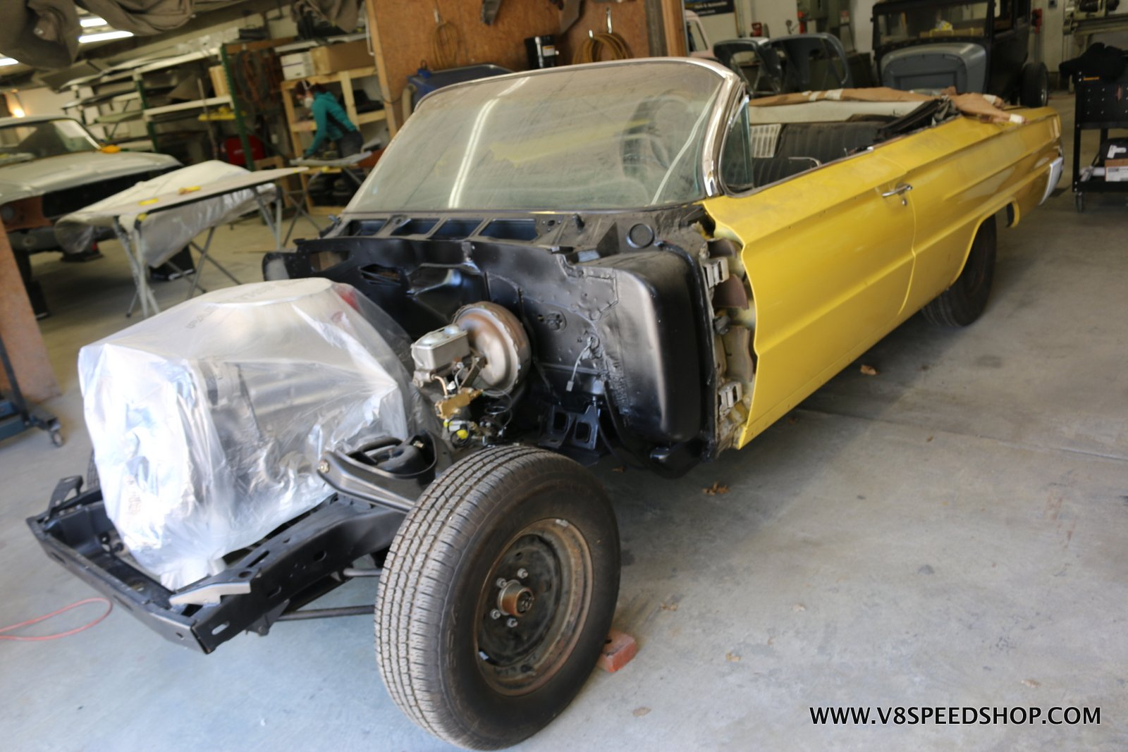 1962 Buick Electra Restoration at the V8 Speed and Resto Shop