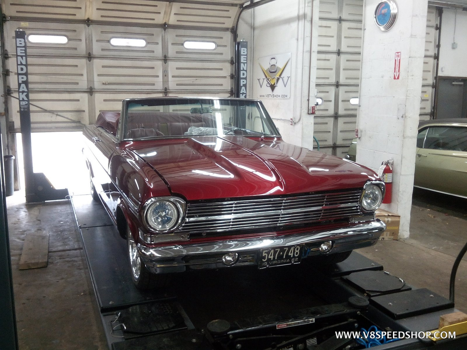 1962 Chevrolet Nova Maintenance at V8 Speed and Resto Shop Photo Gallery