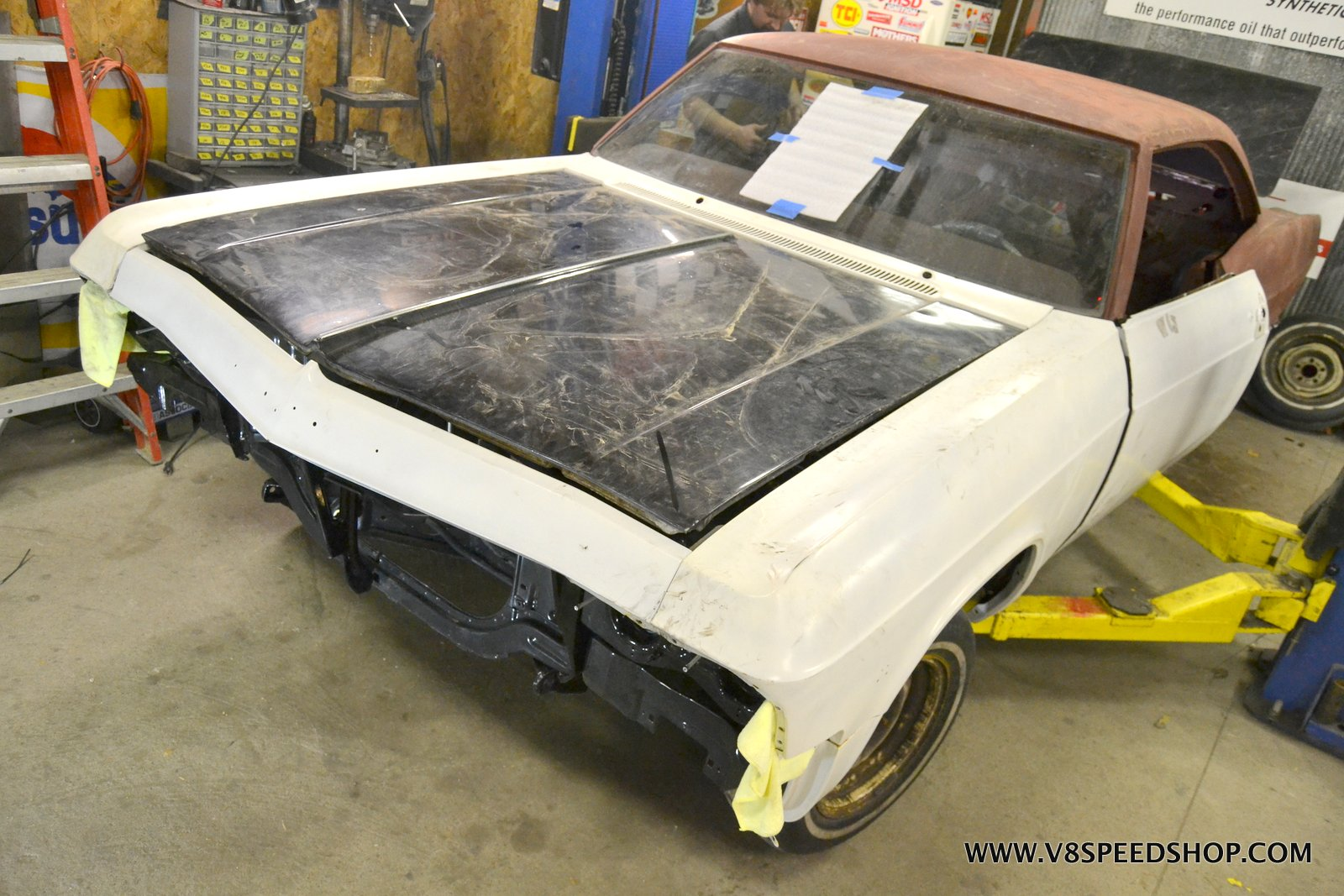 1965 Chevrolet Impala Body and Paint Restoration at the V8 Speed and Resto Shop