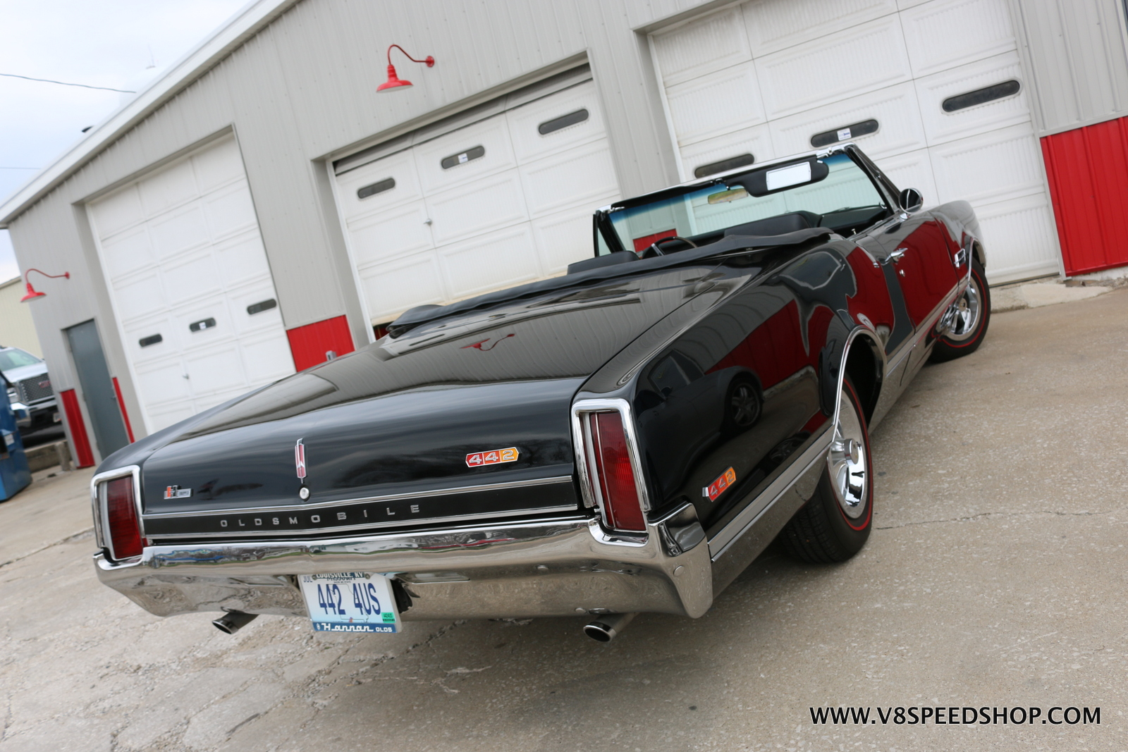 1966 Oldsmobile 442 4-Speed Convertible at V8 Speed & Resto