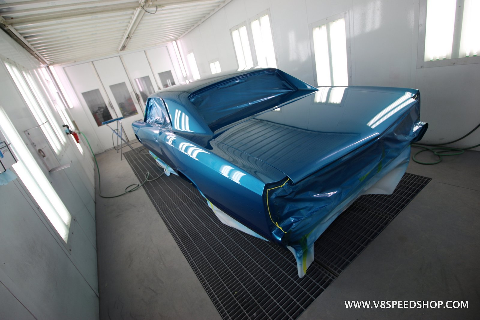 1966 Chevrolet Chevelle SS396 Restoration at V8 Speed & Resto Shop