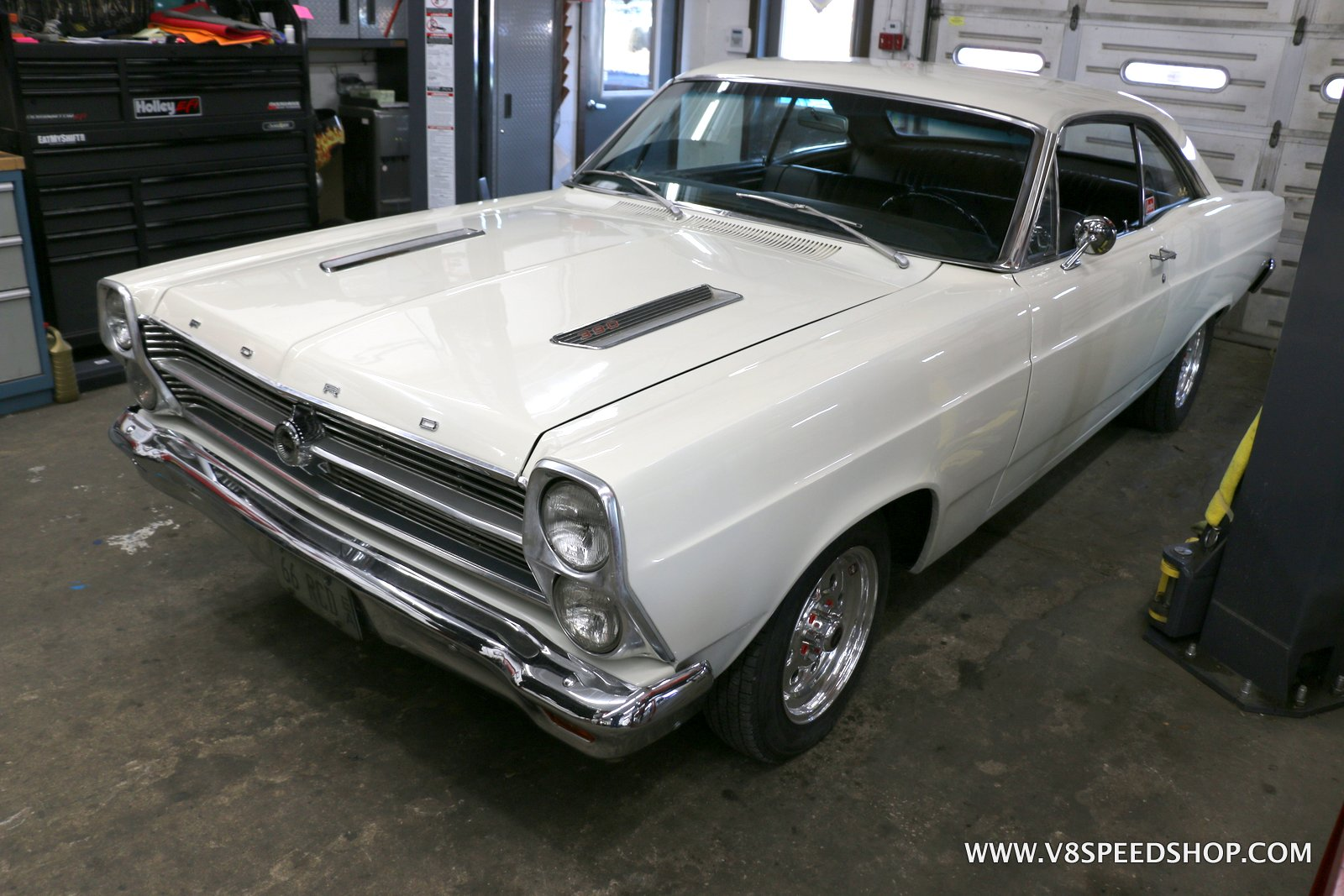 1966 Ford Fairlane Wiring and Maintenance at the V8 Speed and Resto Shop