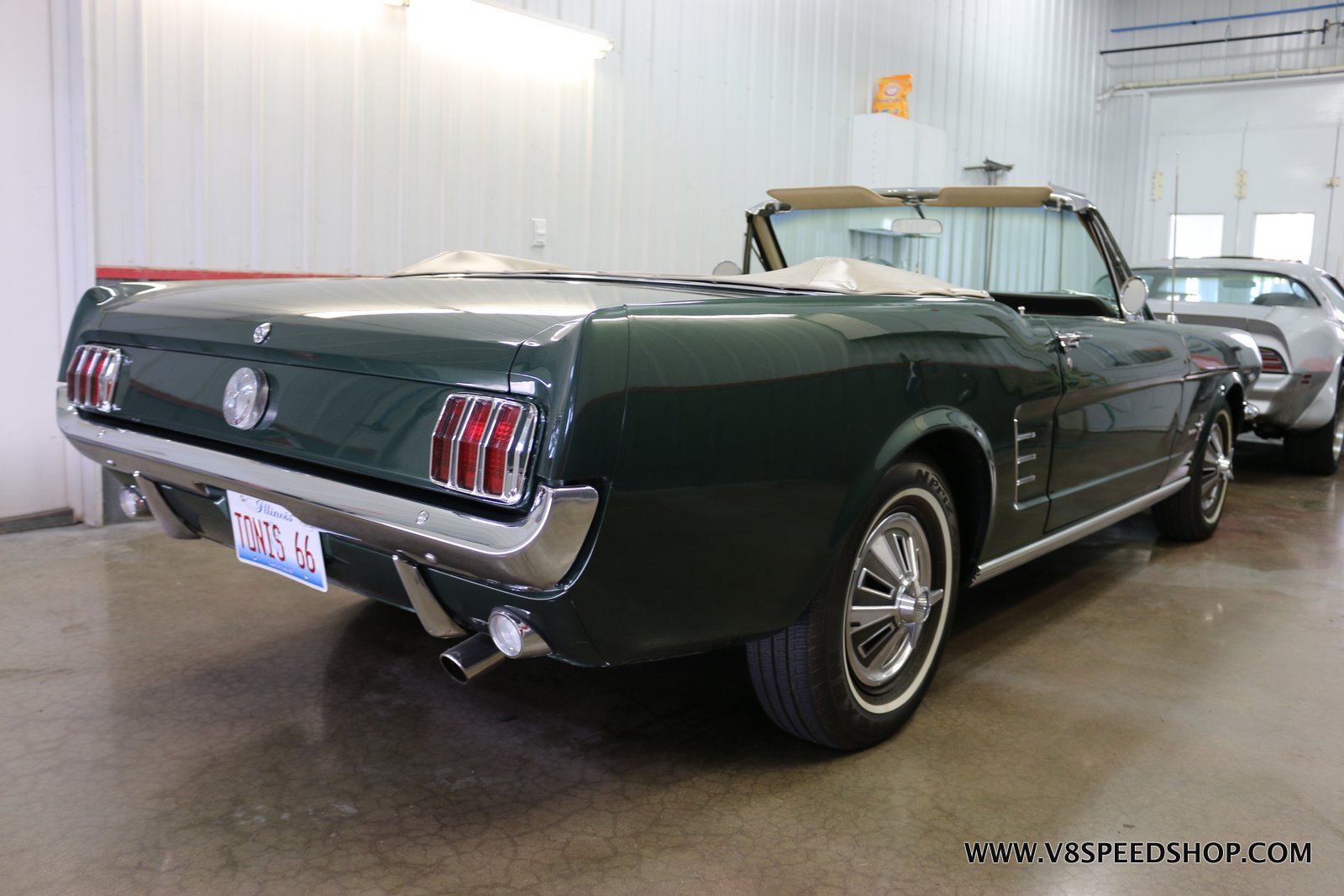 1966 Ford Mustang Convertible Power Steering Upgrade at the V8 Speed and Resto Shop