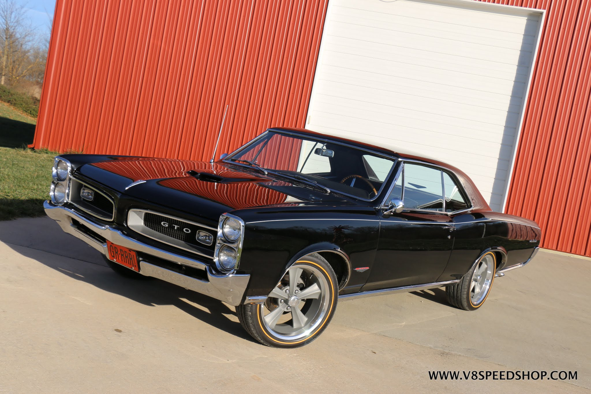 1966 Pontiac GTO Disc Brake and Wheel Upgrade At V8 Speed & Resto Shop
