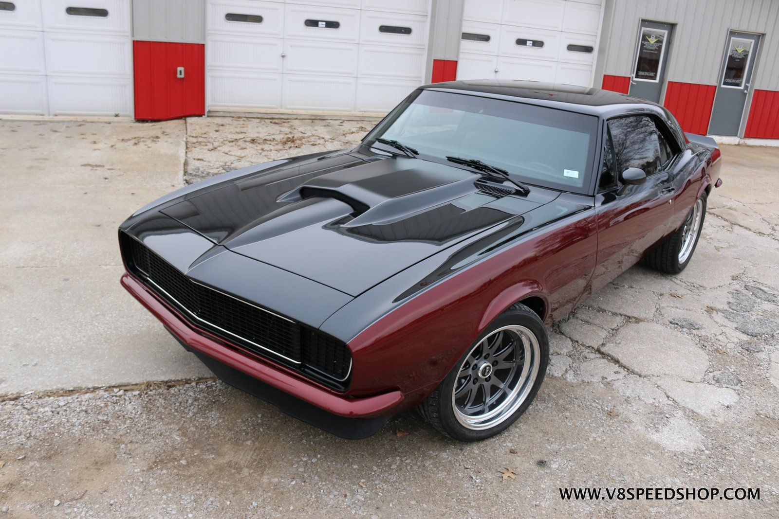 "1967 Chevrolet Camaro ""Shadow"" Complete Restoration and LS Engine Upgrades at the V8 Speed and Resto Shop"