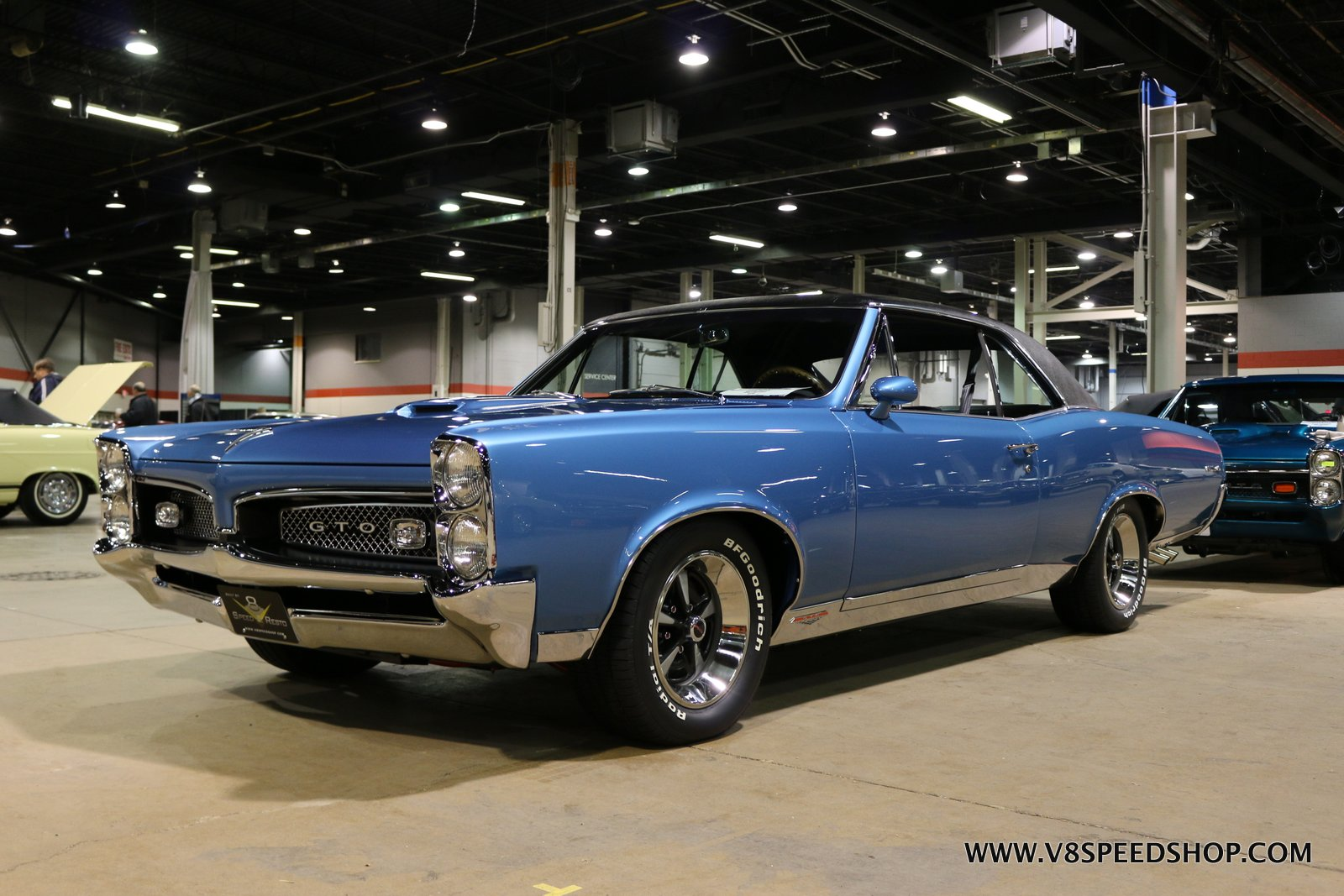 1967 Pontiac GTO Restoration Photo Gallery at V8 Speed and Resto Shop