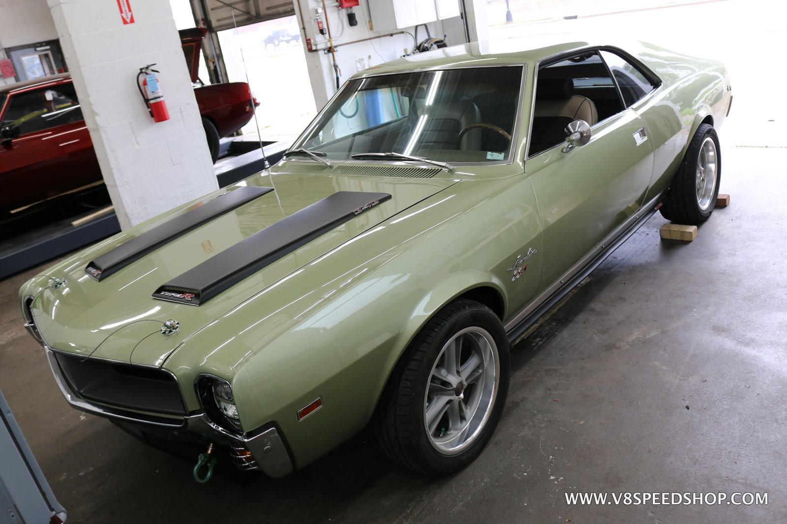 1968 AMC Javelin Maintenence at V8 Speed & Resto Shop