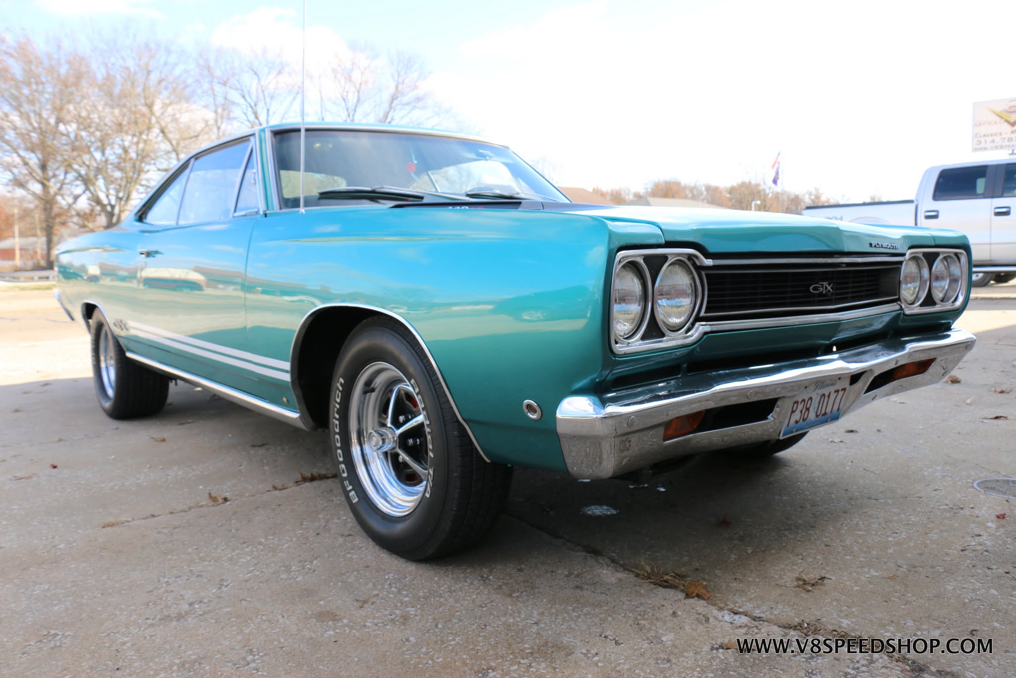 1968 Plymouth GTX at V8 Speed & Resto Shop