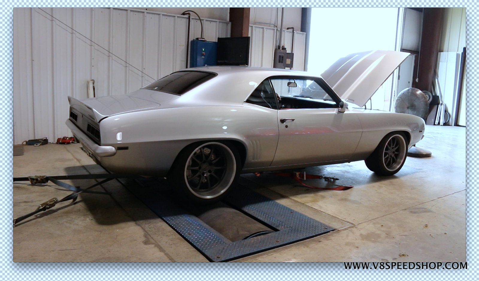 1969 Camaro Transforms From Big Block to Supercharged LT4 V8 at V8 Speed & Resto Shop