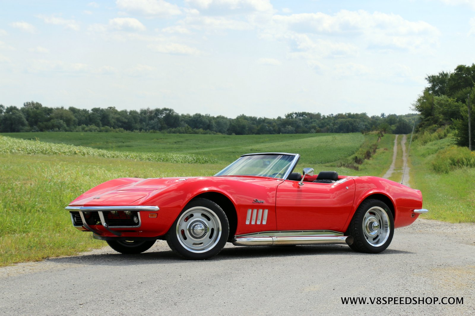 1969 Chevrolet Corvette LS3 T56 6-Speed Swap at V8 Speed & Resto Shop Photo Gallery