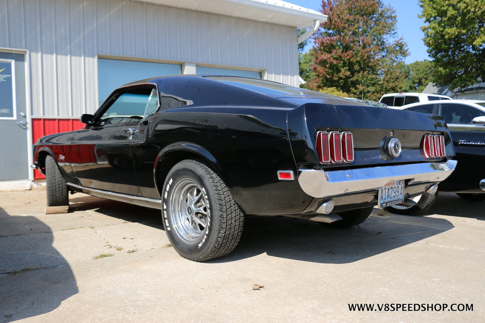 1969 Ford Mustang Fastback Maintenance at the V8 Speed and Resto Shop