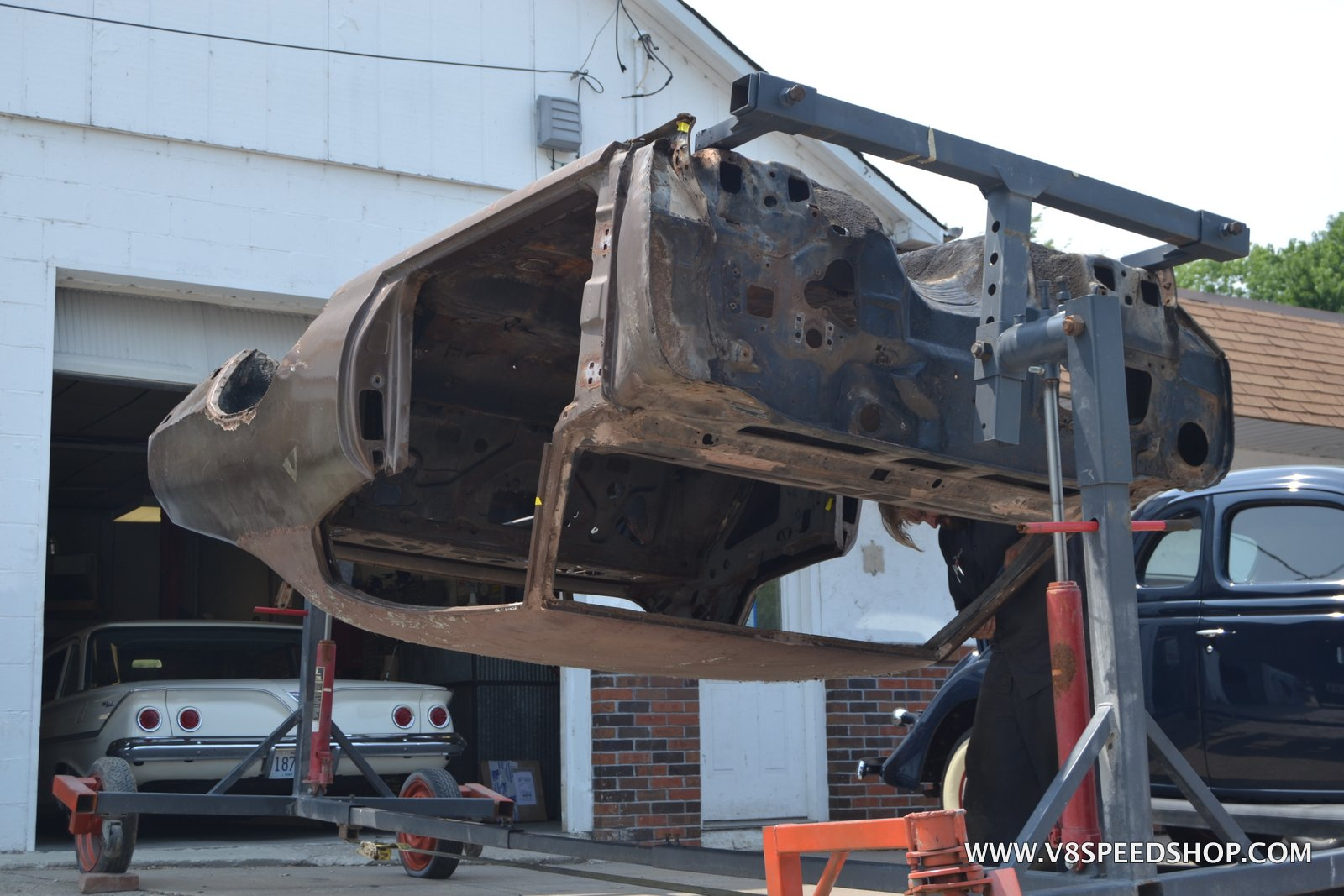 1970 Buick GS 455 Stage One Body Restoration at V8 Speed & Resto Shop