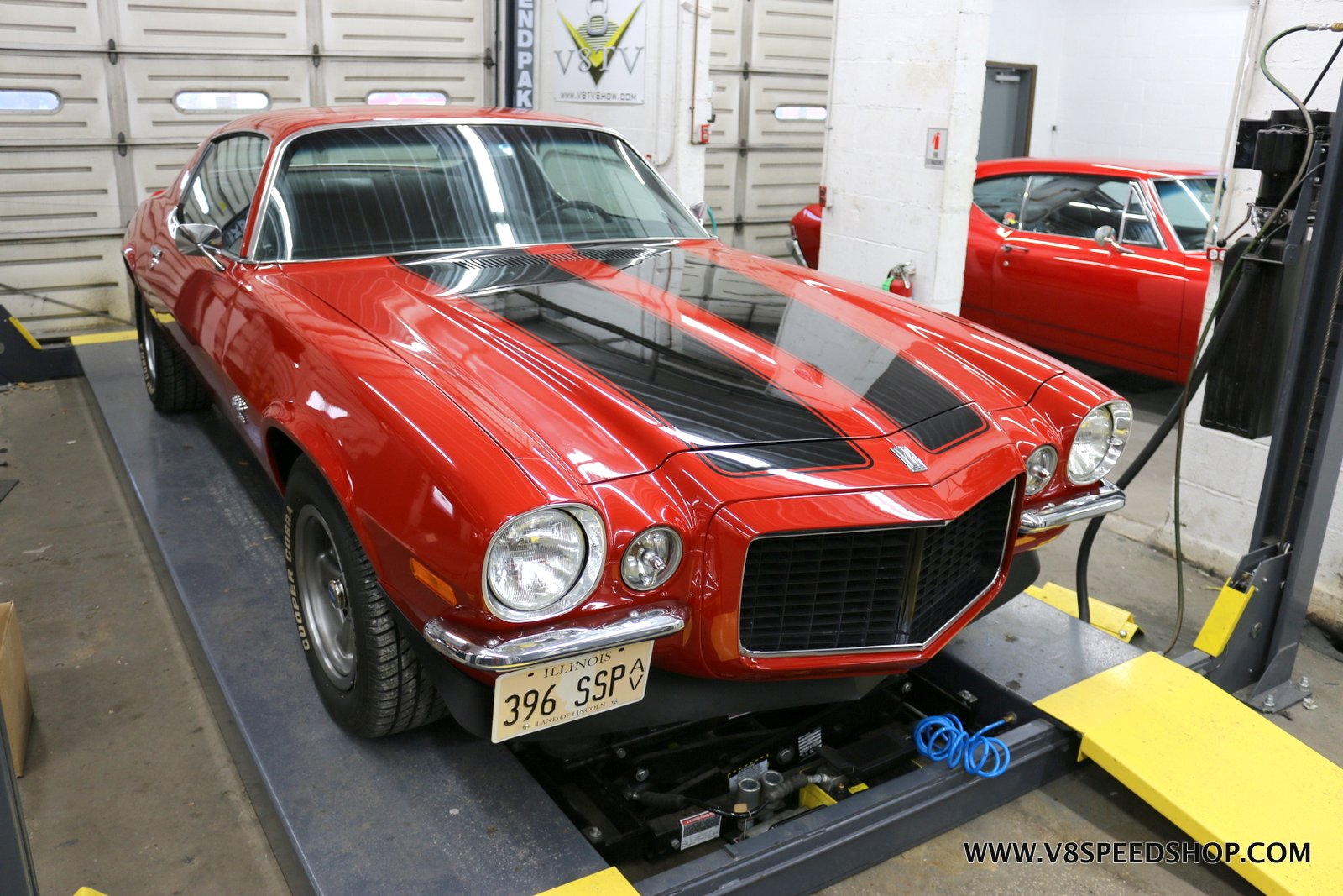 1970 Chevrolet Camaro SS396 Restoration Photo Gallery at V8 Speed & Resto Shop