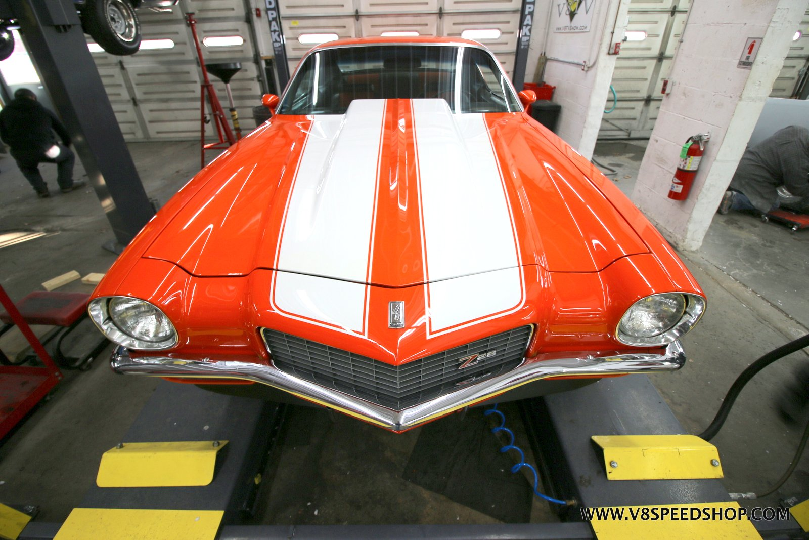 1970 Chevrolet Camaro Z28 Photo Gallery at V8 Speed & Resto Shop
