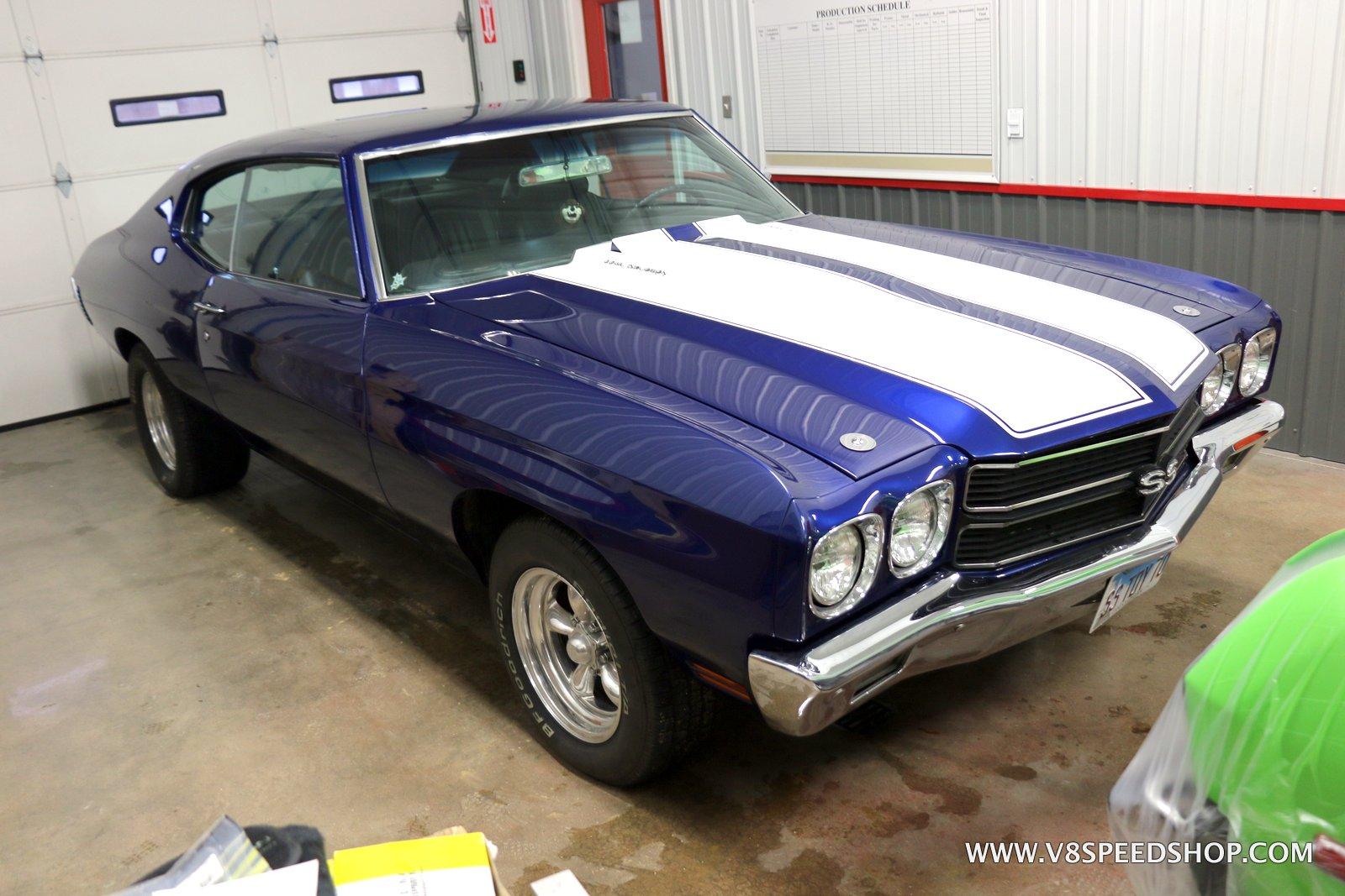 1970 Chevrolet Chevelle Maintenance and Upgrades at the V8 Speed and Resto Shop