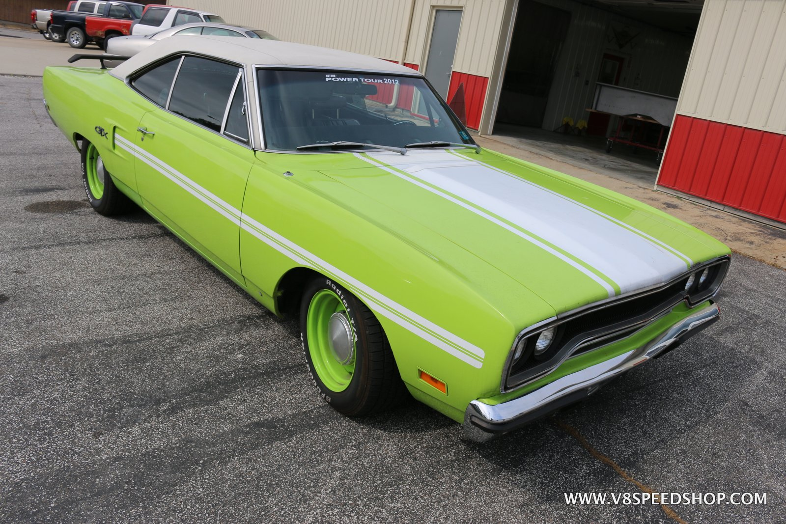 1970 Plymouth Roadrunner Transformation at the V8 Speed and Resto Shop