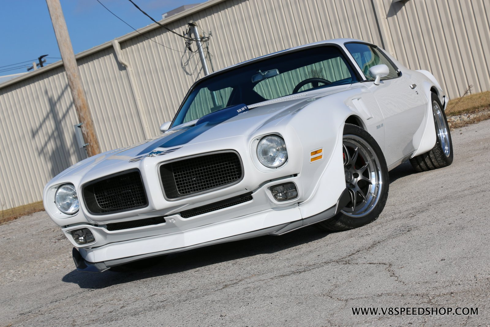 1970 Pontiac Trans Am Pro-Touring Project at V8 Speed & Resto Shop