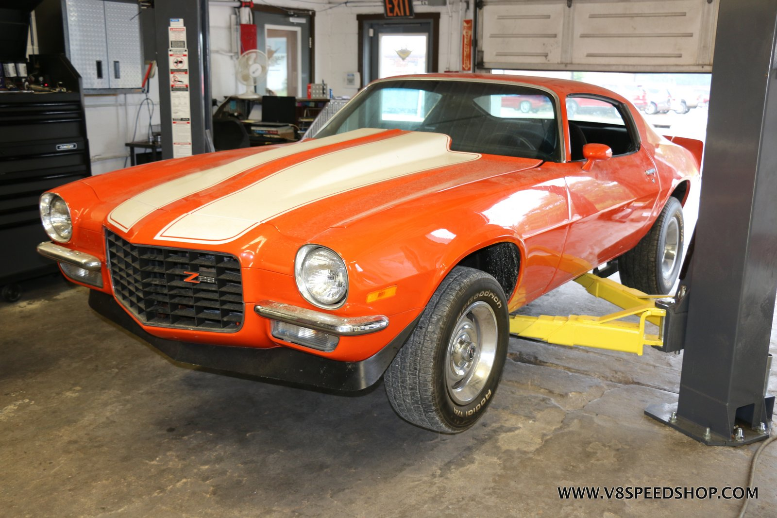 1971 Chevrolet Camaro Maintenance and Performance Upgrade Photo Gallery
