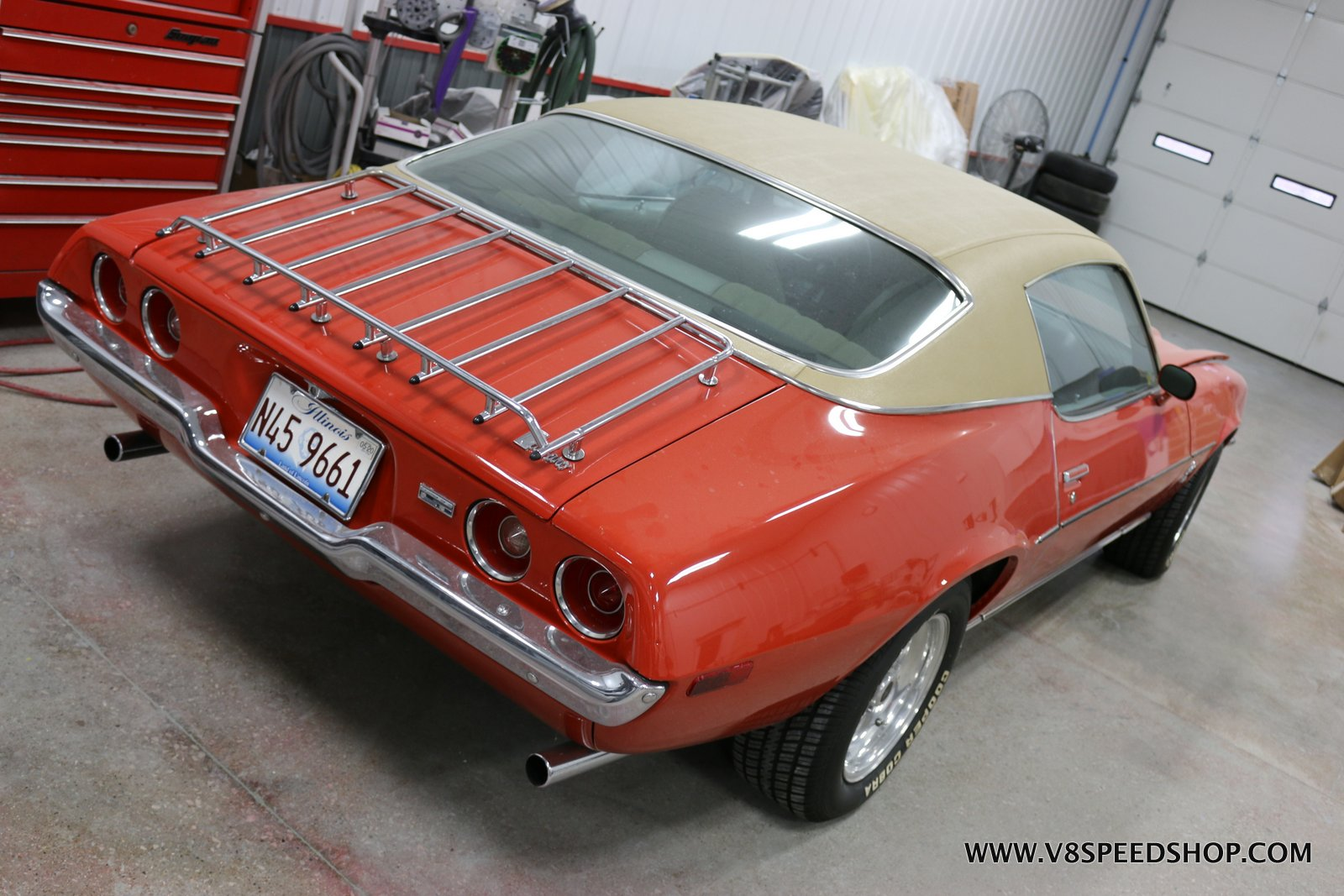 1973 Chevrolet Camaro Body and Paint Restoration at the V8 Speed and Resto Shop