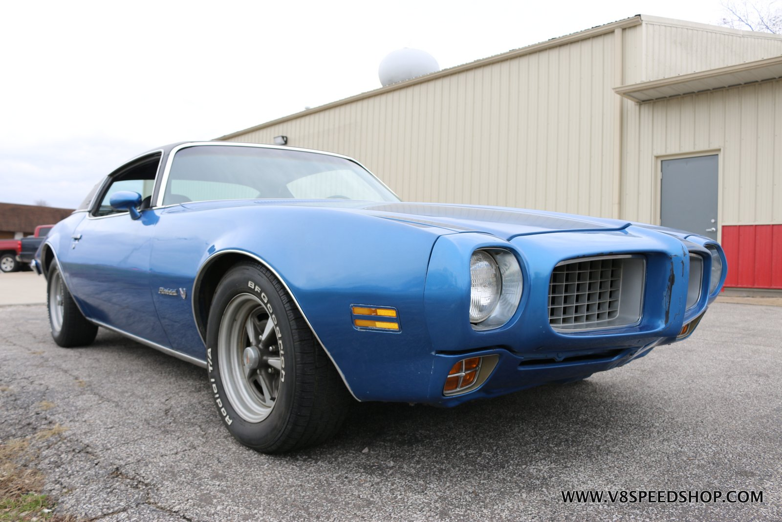 1973 Pontiac Firebird at V8 Speed & Resto Shop