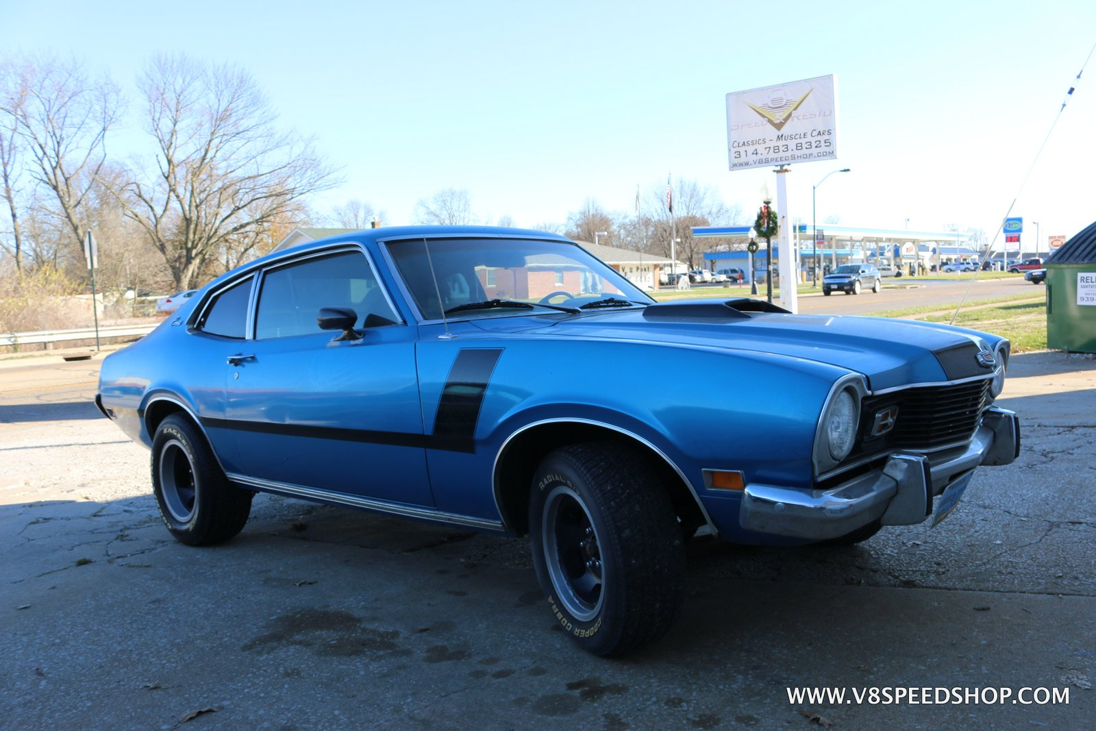 1974 Mercury Comet Engine Upgrades at V8 Speed and Resto Shop