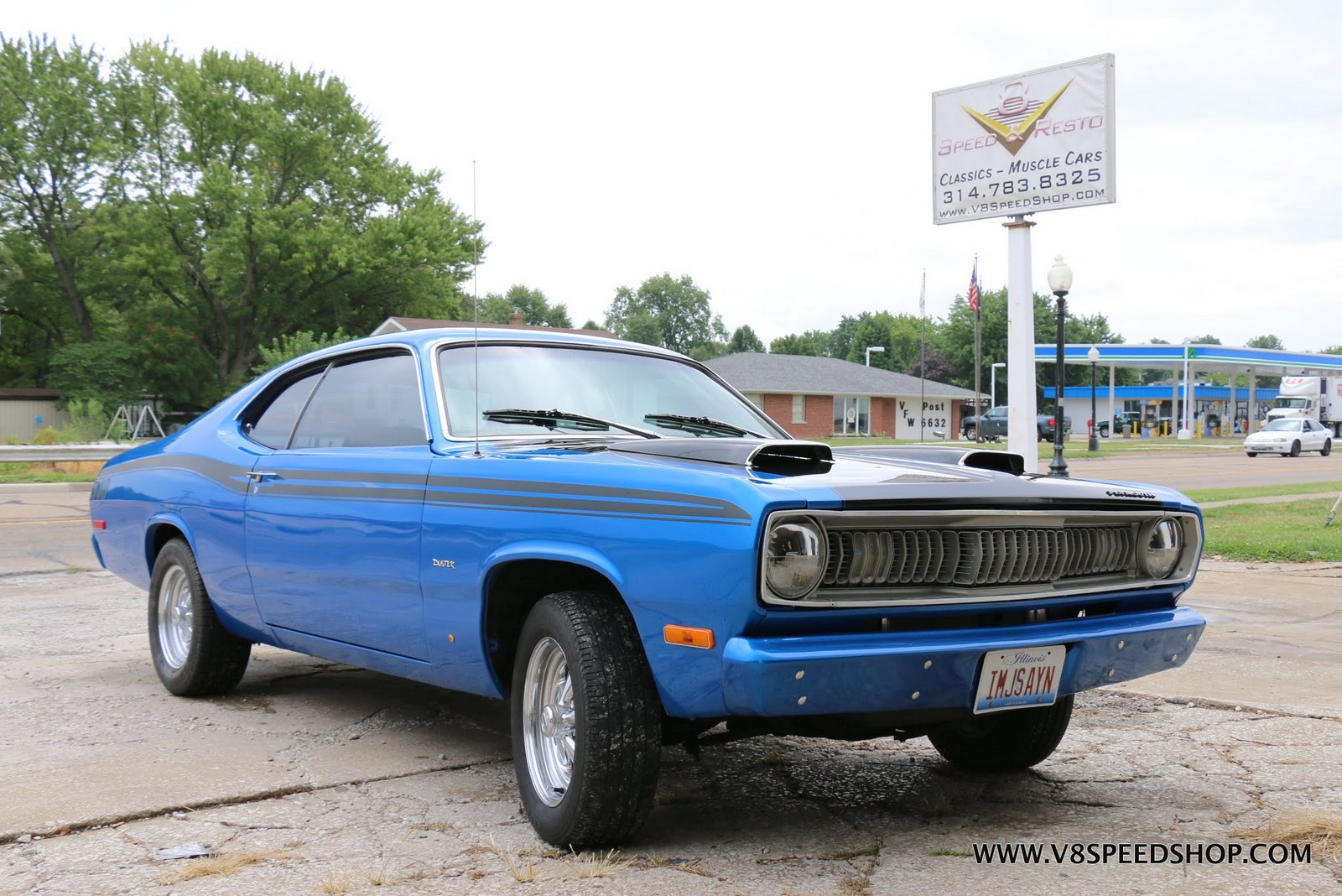 1974 Plymouth Duster Restoration at the V8 Speed & Resto Shop