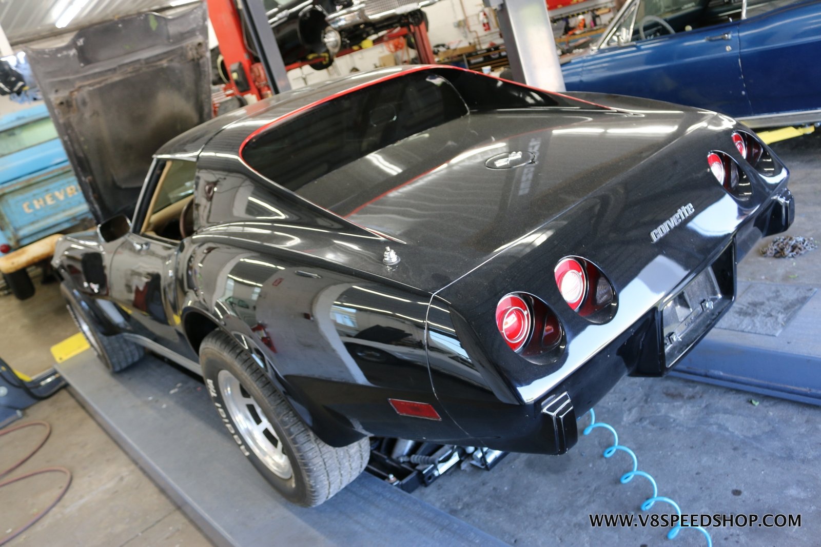 1976 Chevrolet Corvette Upgrades at V8 Speed & Resto Shop