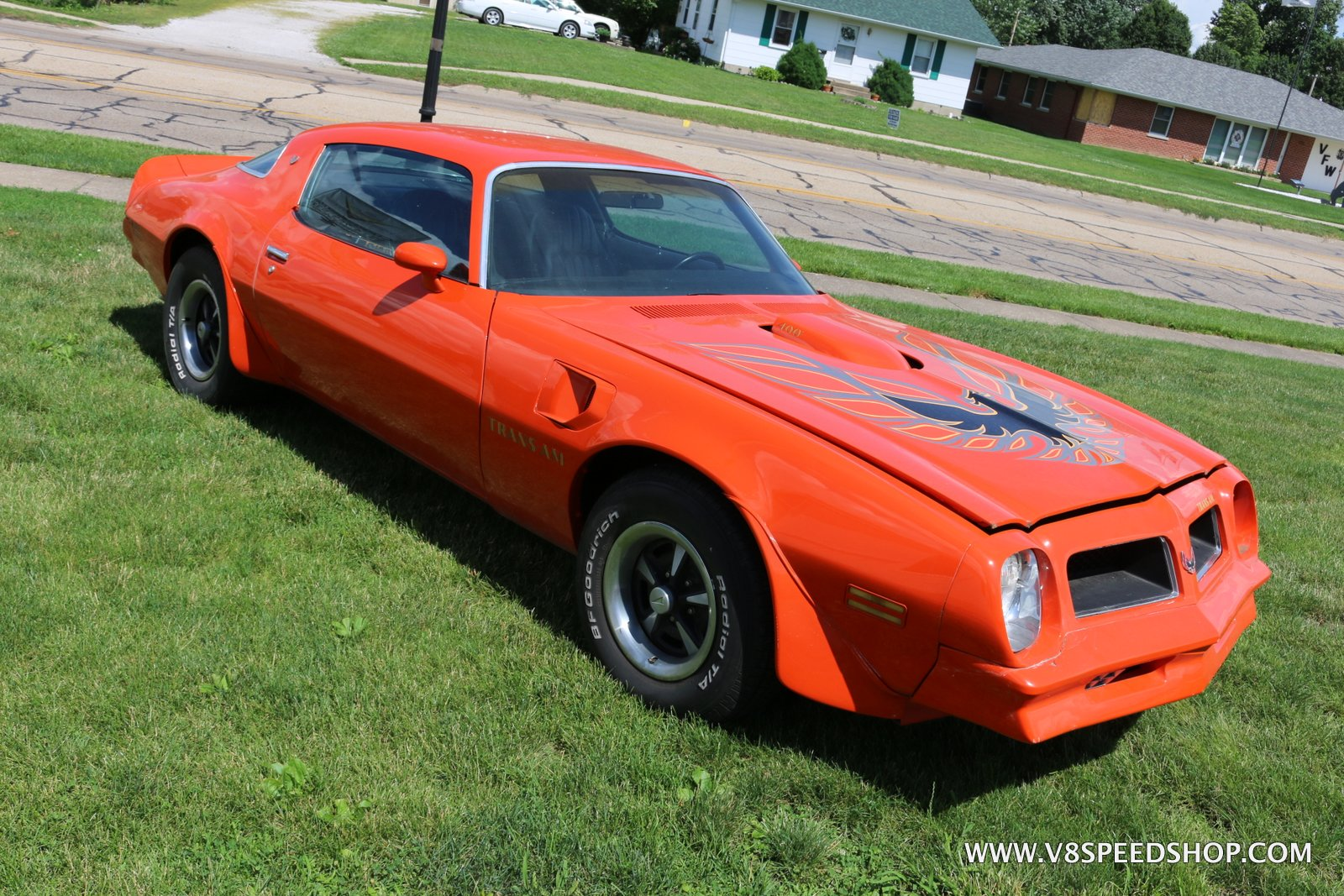 1976 Pontiac Trans Am Restoration at the V8 Speed and Resto Shop