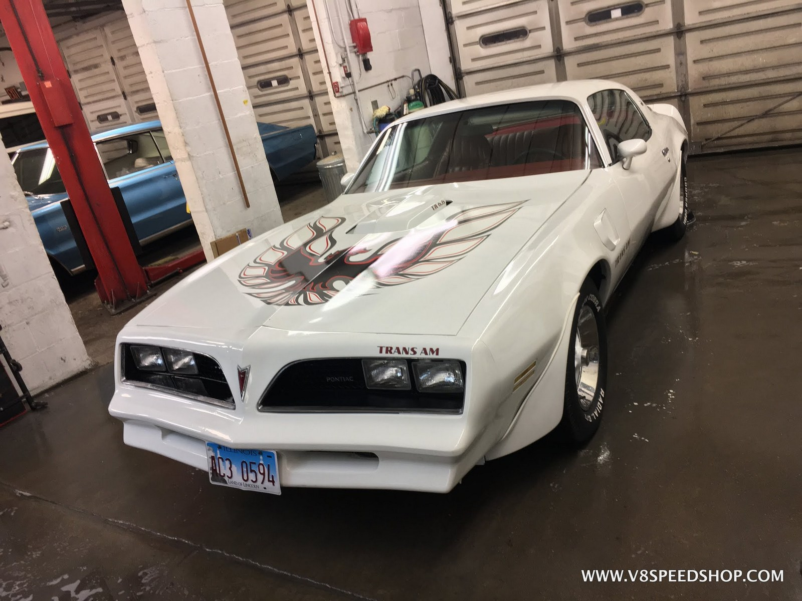 1977 Pontiac Trans Am Engine Repair at V8 Speed & Resto Shop