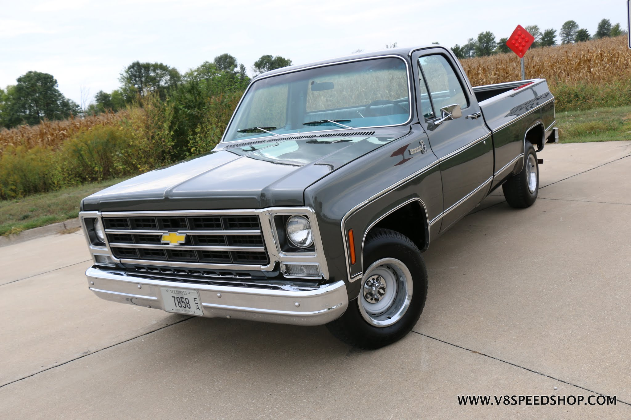 1979 Chevrolet Bonanza Pickup Restoration At V8 Speed & Resto Shop