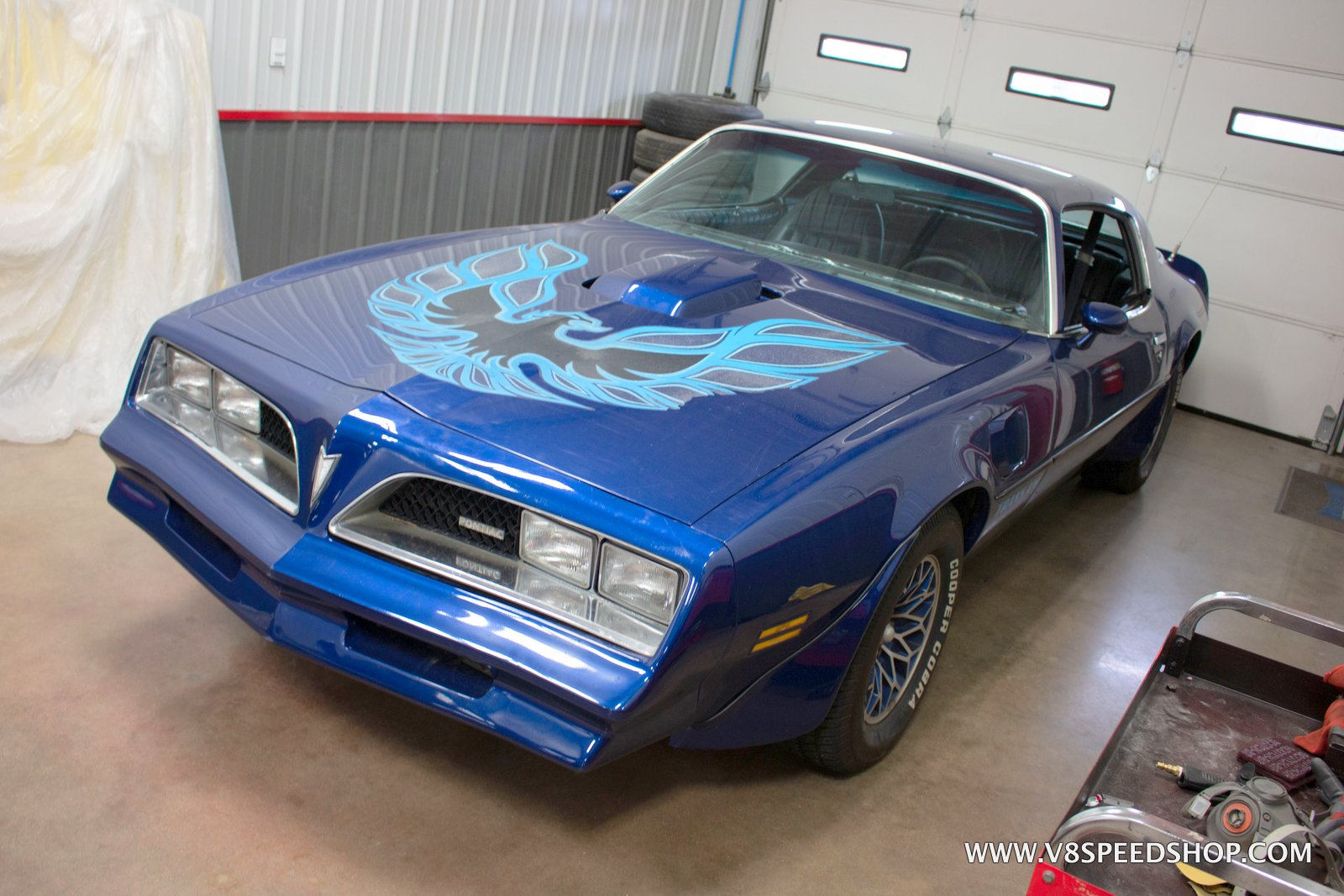 1978 Pontiac Firebird Trans Am Maintenance at V8 Speed & Resto Shop