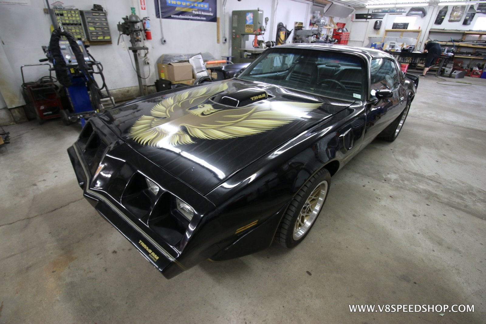 1979 Pontiac Trans Am LS3 Swap and Suspension Upgrades at V8 Speed and Resto Shop