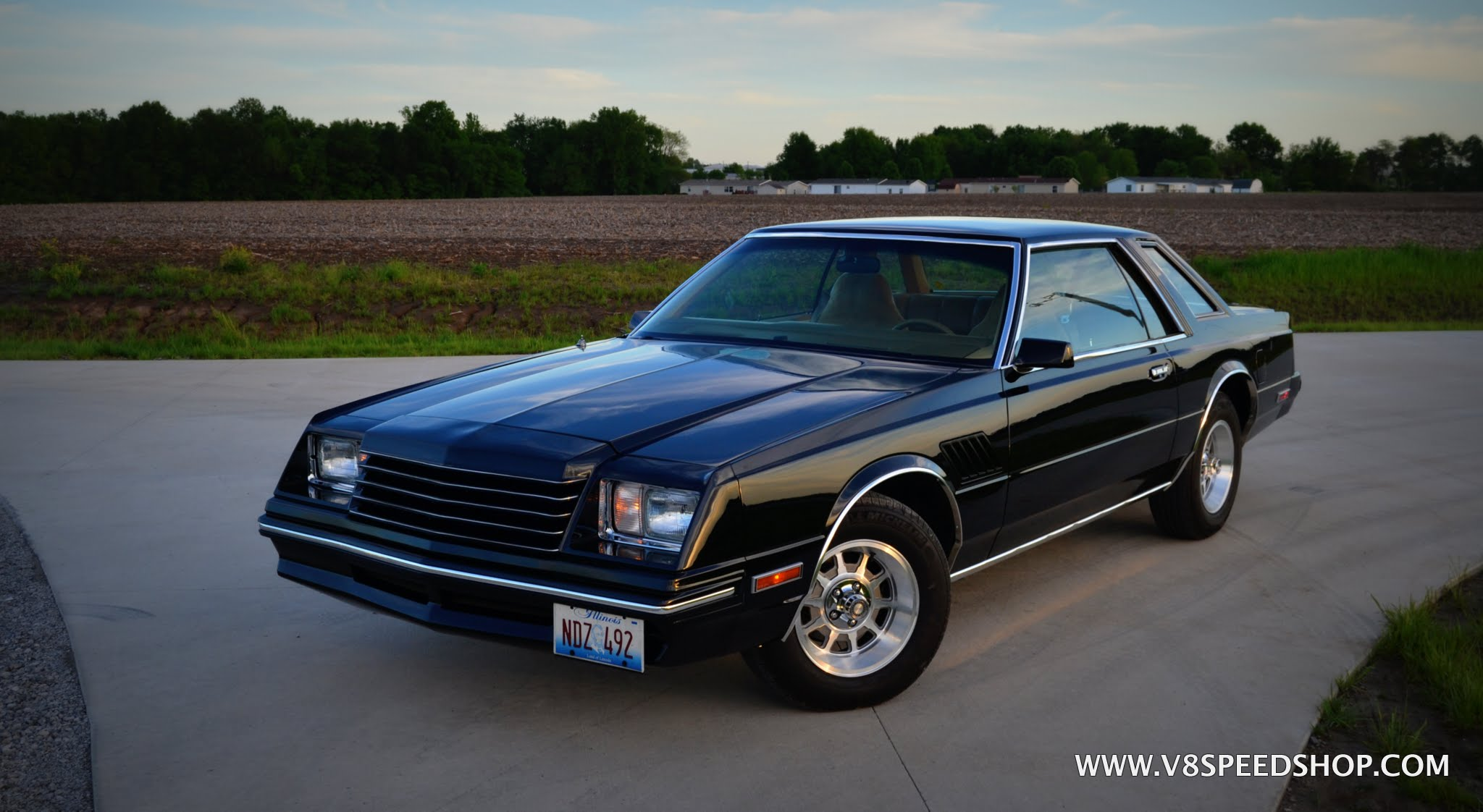 1980 Dodge Mirada Restored by V8 Speed & Resto Shop