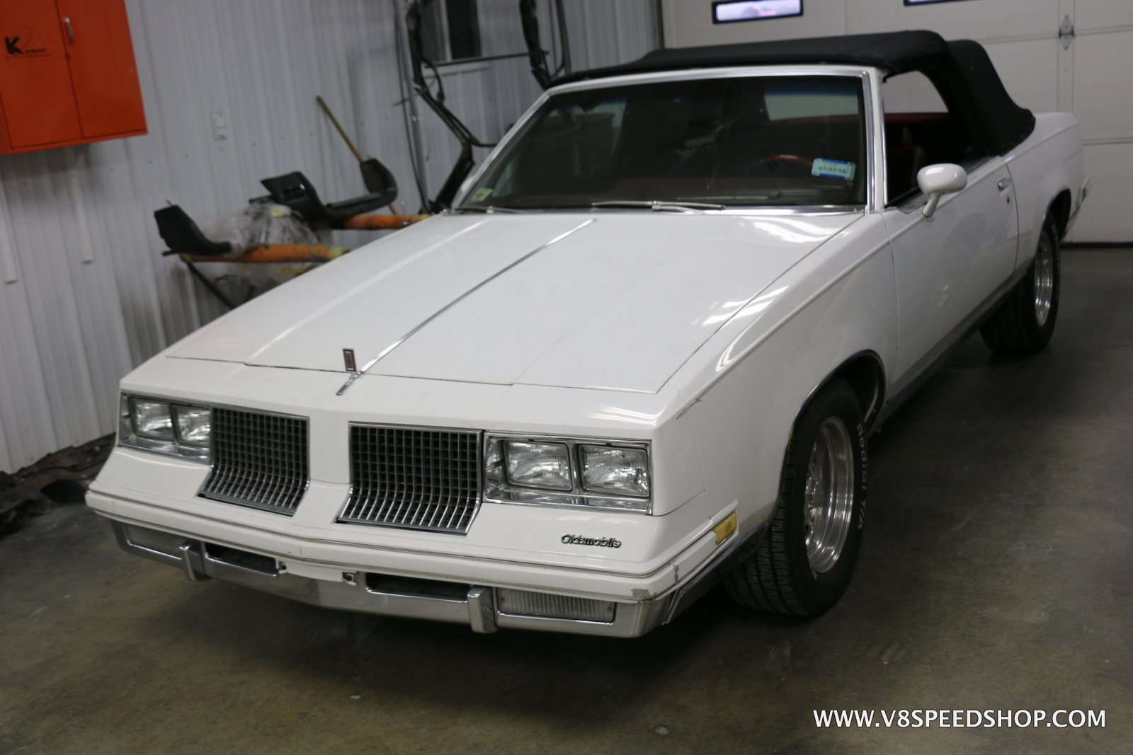 1983 Oldsmobile Cutlass Supreme Convertible Maintenance at V8 Speed and Resto Shop