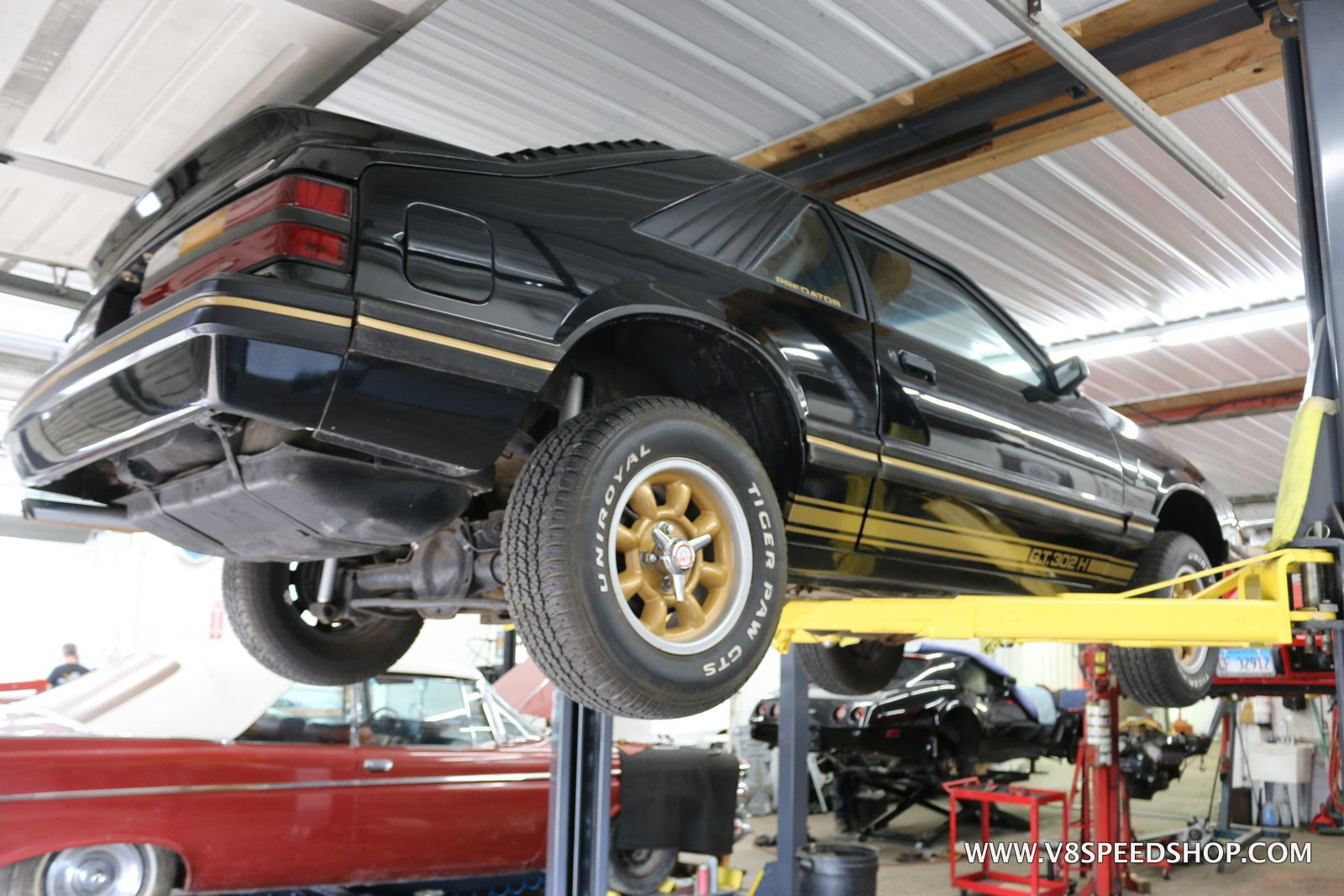 1984 Ford Mustang GT302H Predator Maintenance at the V8 Speed & Resto Shop