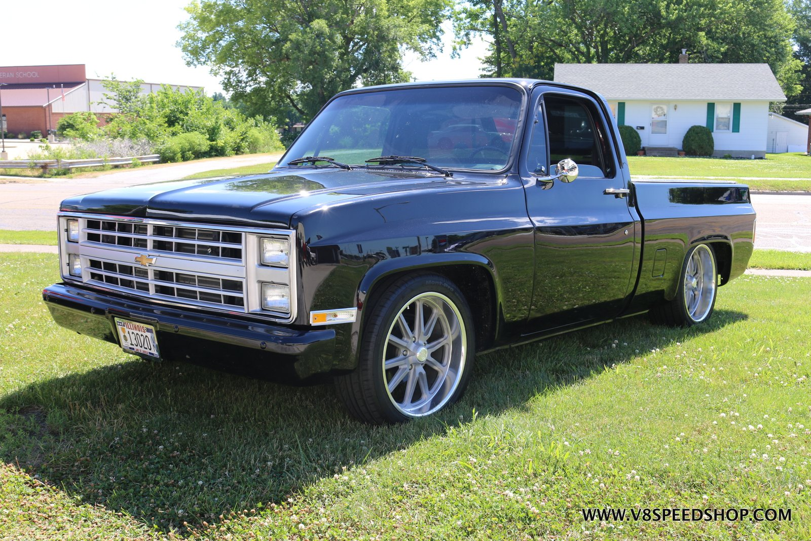 1985 Chevrolet C10 Pickup Maintenance and Completion at V8 Speed & Resto Shop