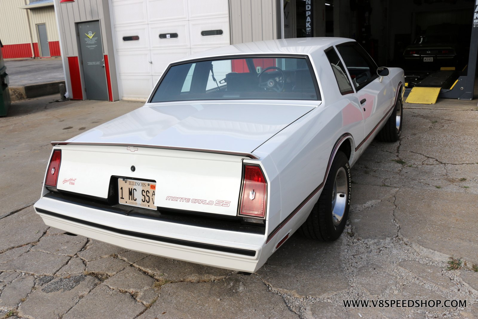 1985 Chevrolet Monte Carlo SS Maintenance at V8 Speed & Resto Shop
