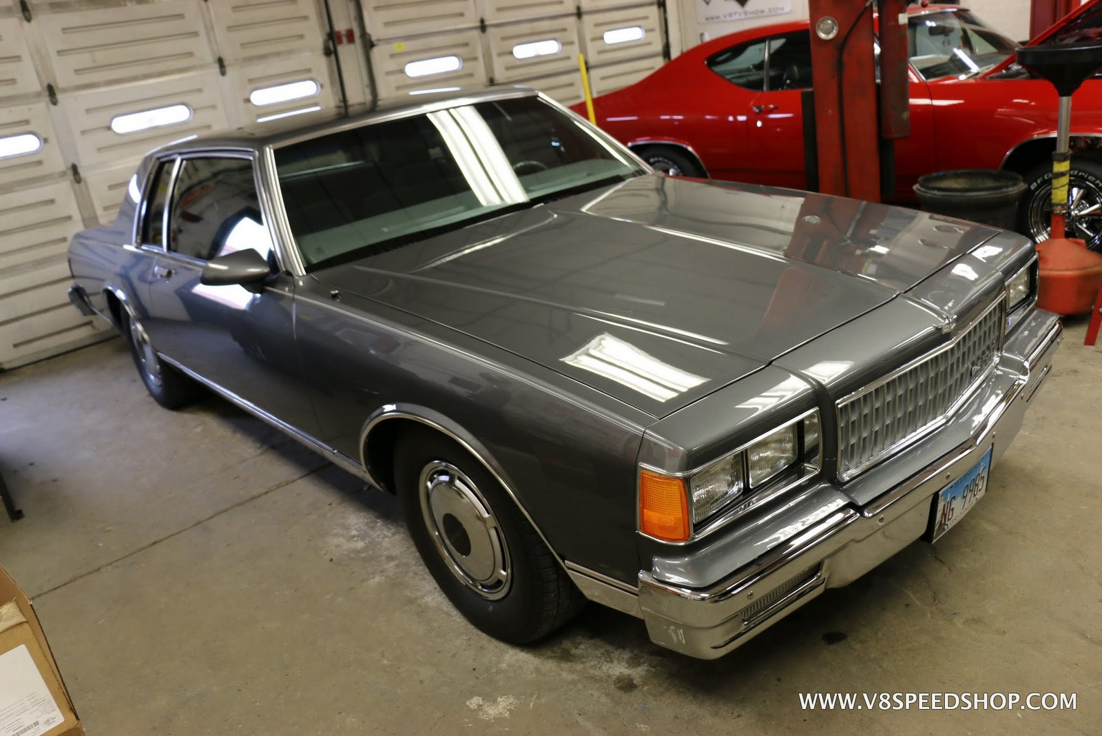 1986 Chevrolet Caprice Restoration At V8 Speed & Resto Shop