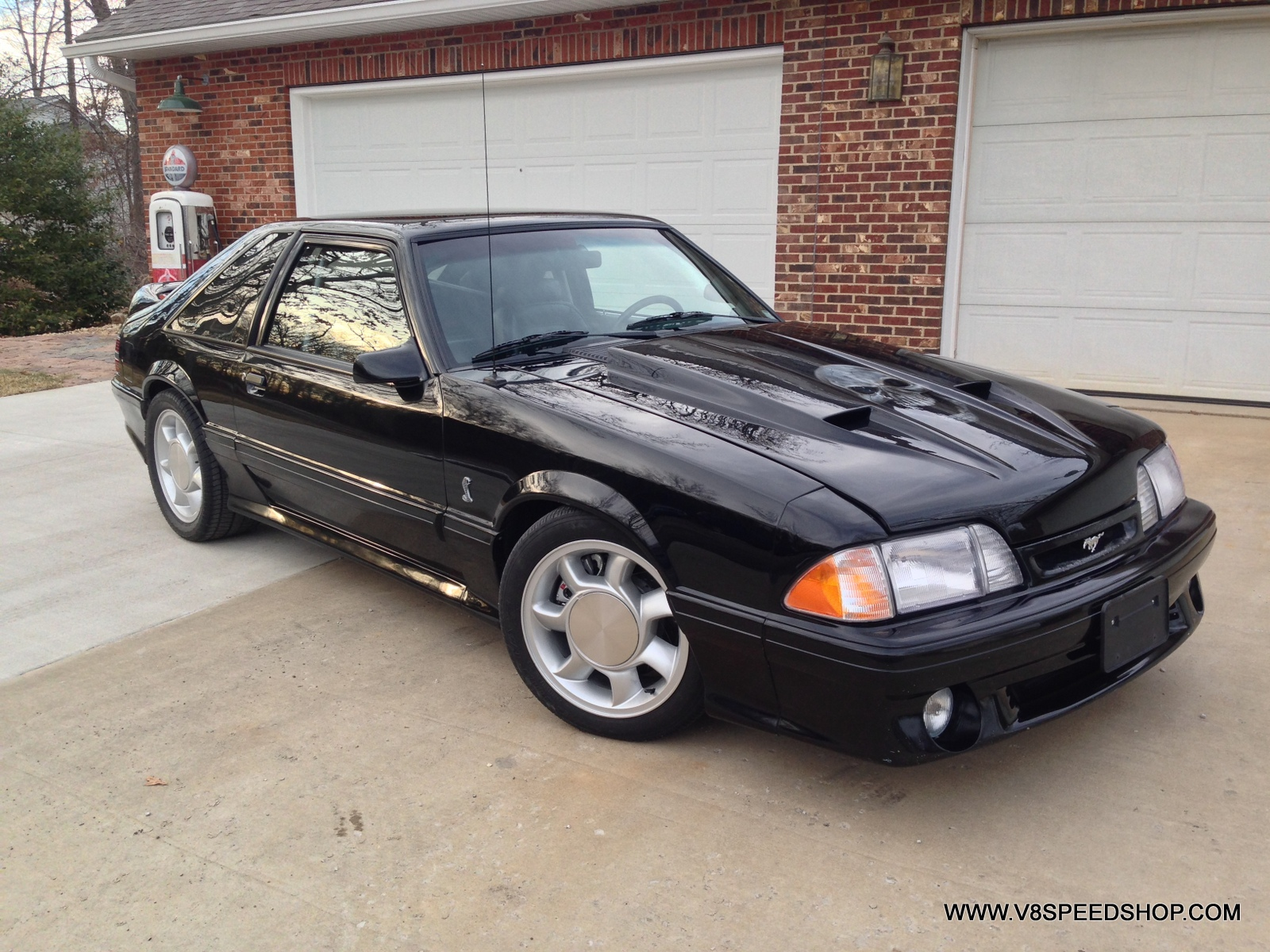 1993 Ford Mustang Cobra Turbo Completion in V8 Speed & Resto Shop